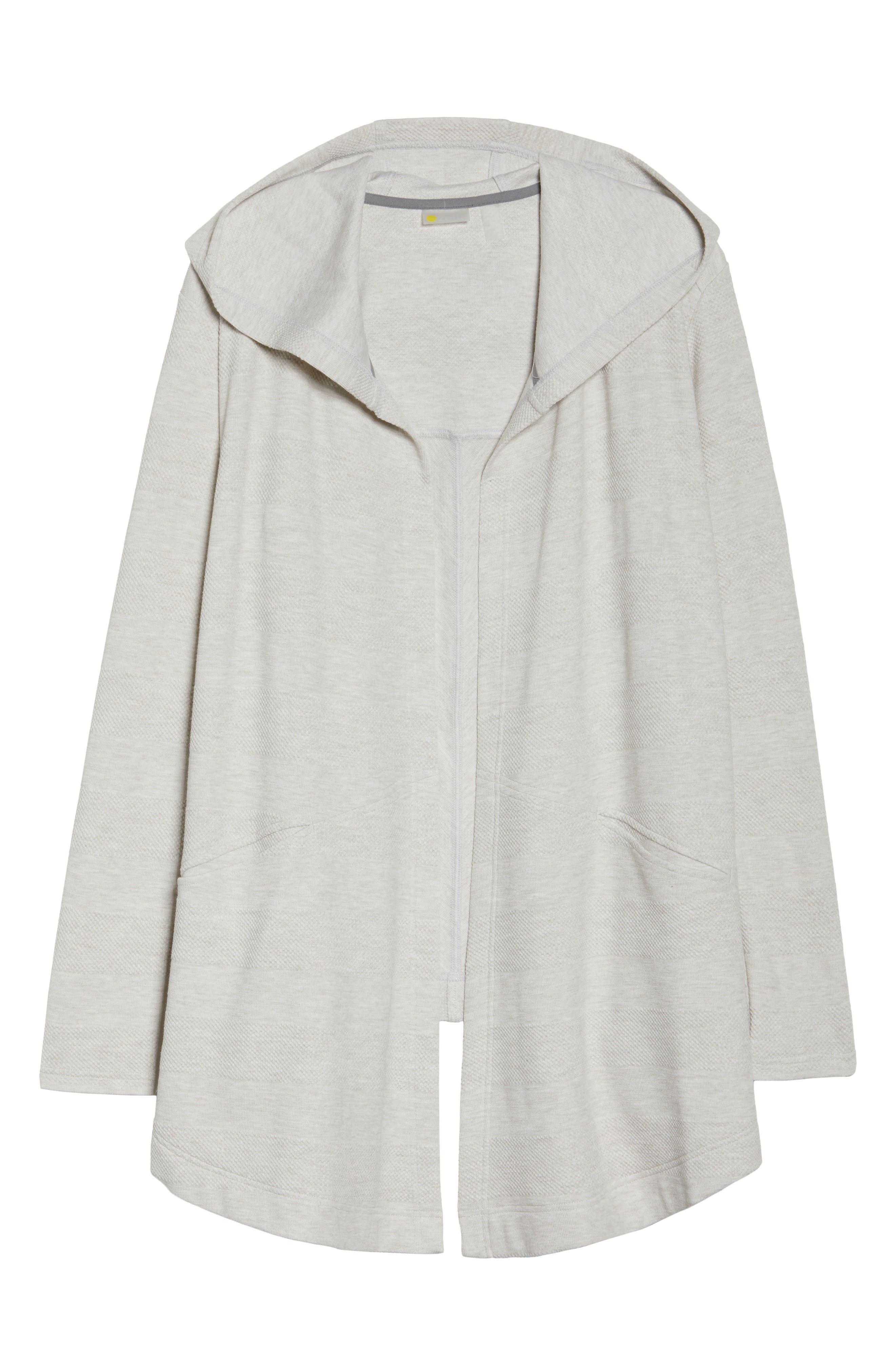 Ria Hooded Cardigan,                         Main,                         color, Grey Crystal Heather