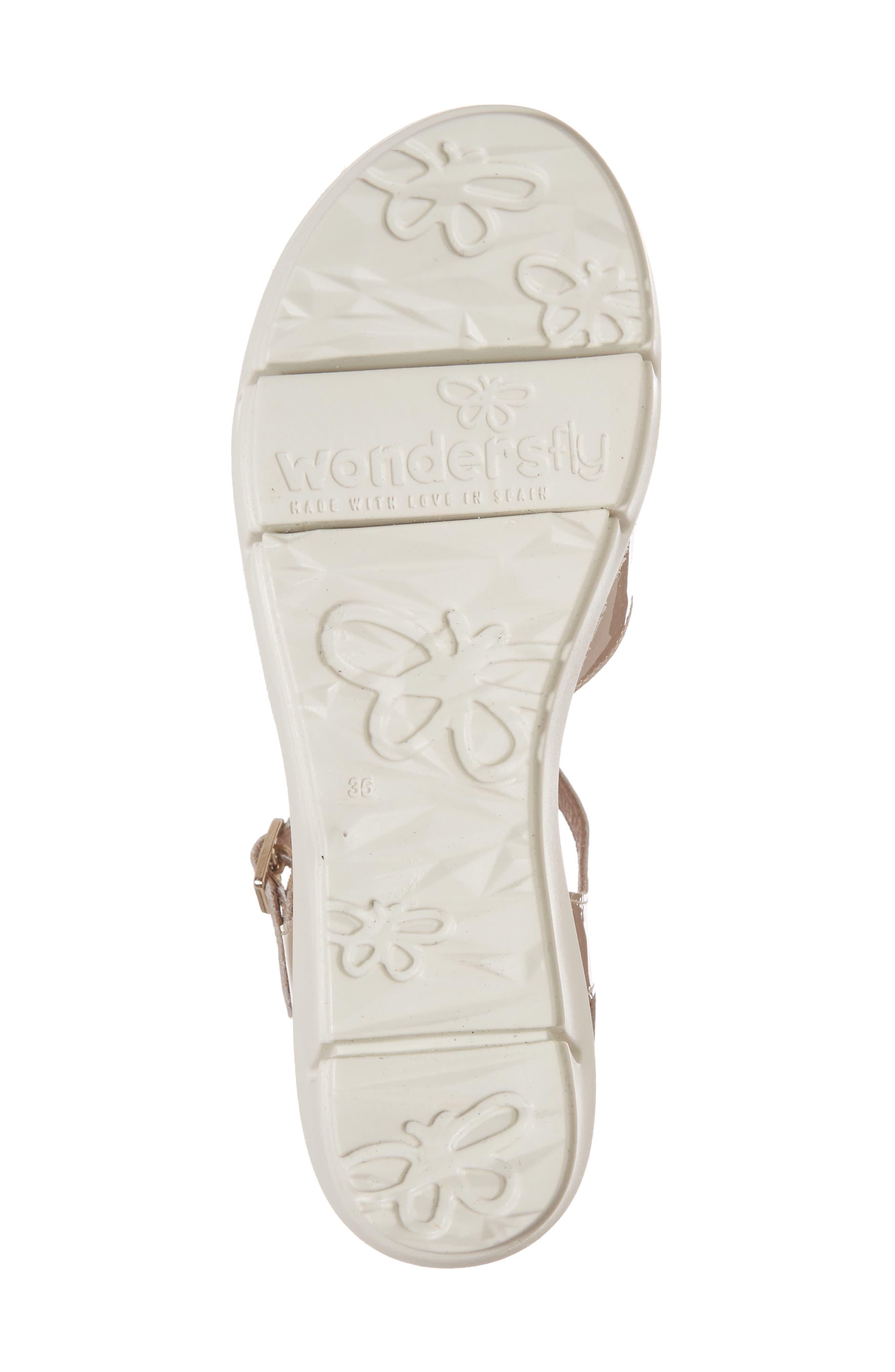 D-8201 Platform Sandal,                             Alternate thumbnail 6, color,                             Taupe Leather
