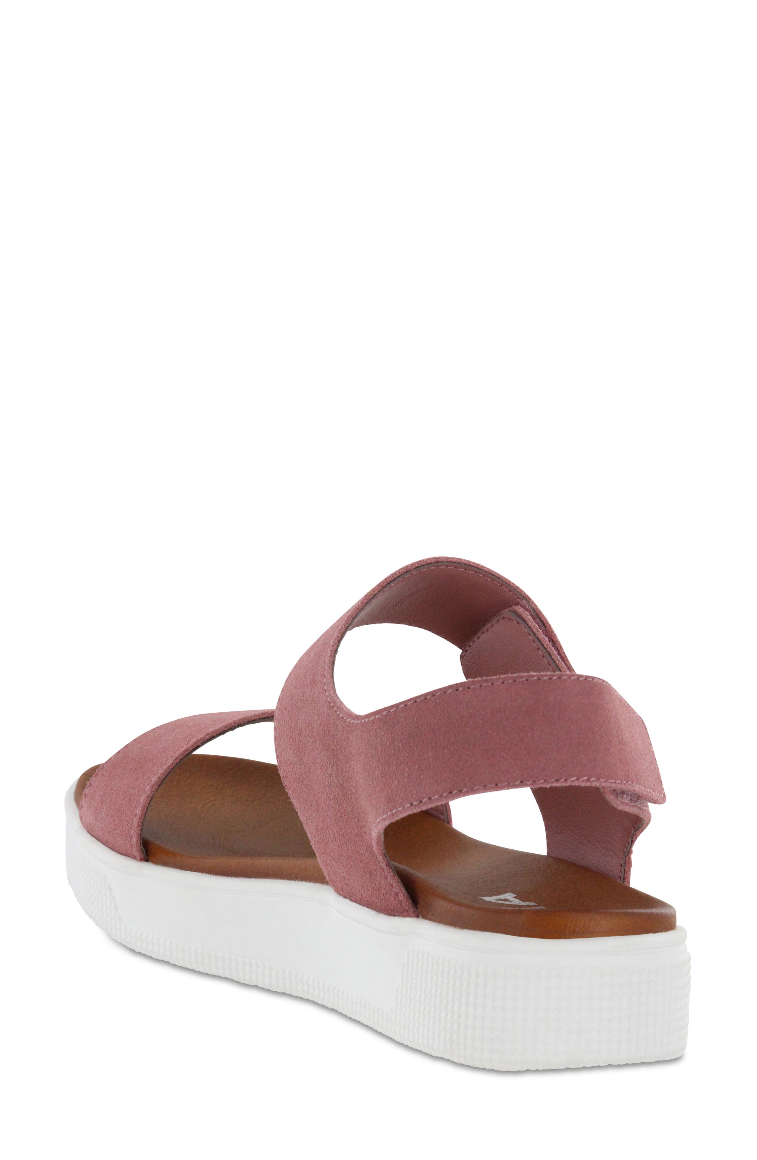 Troy Slingback Platform Sandal,                             Alternate thumbnail 2, color,                             Mauve Suede