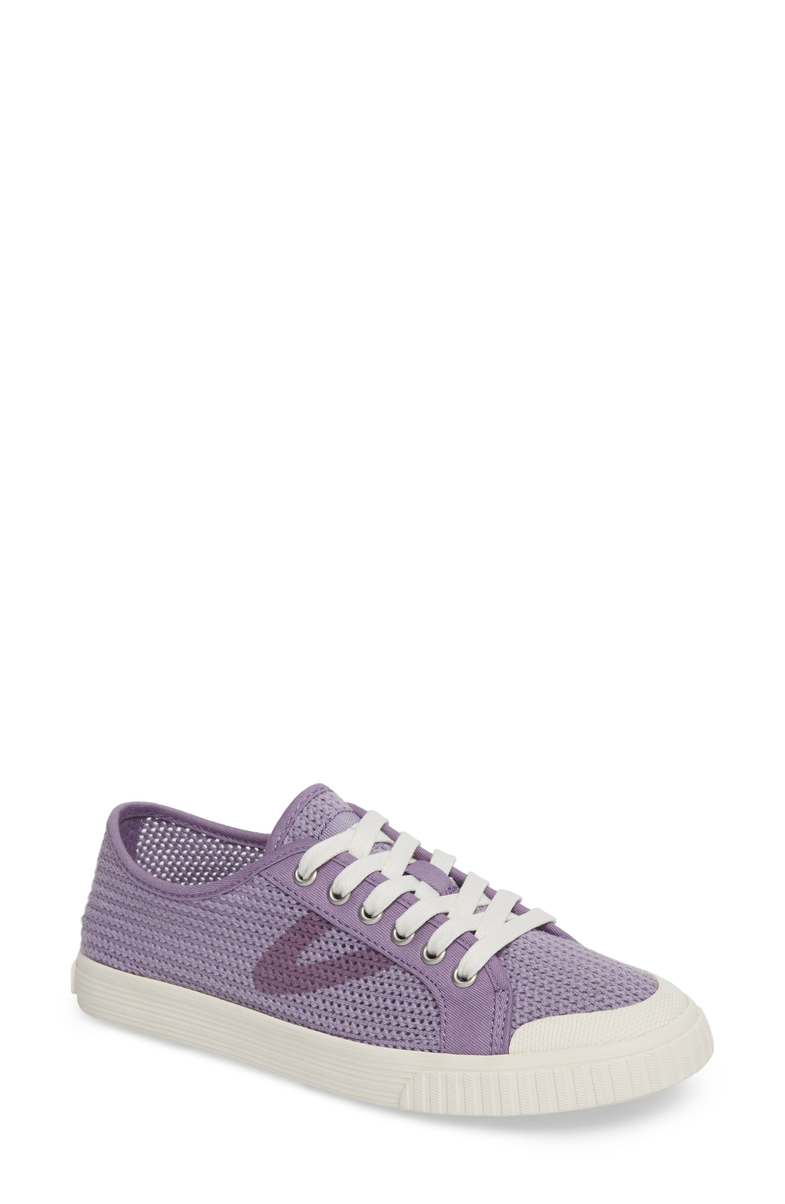 'Tournament Net' Sneaker,                             Main thumbnail 1, color,                             Lavender Cotton Mesh