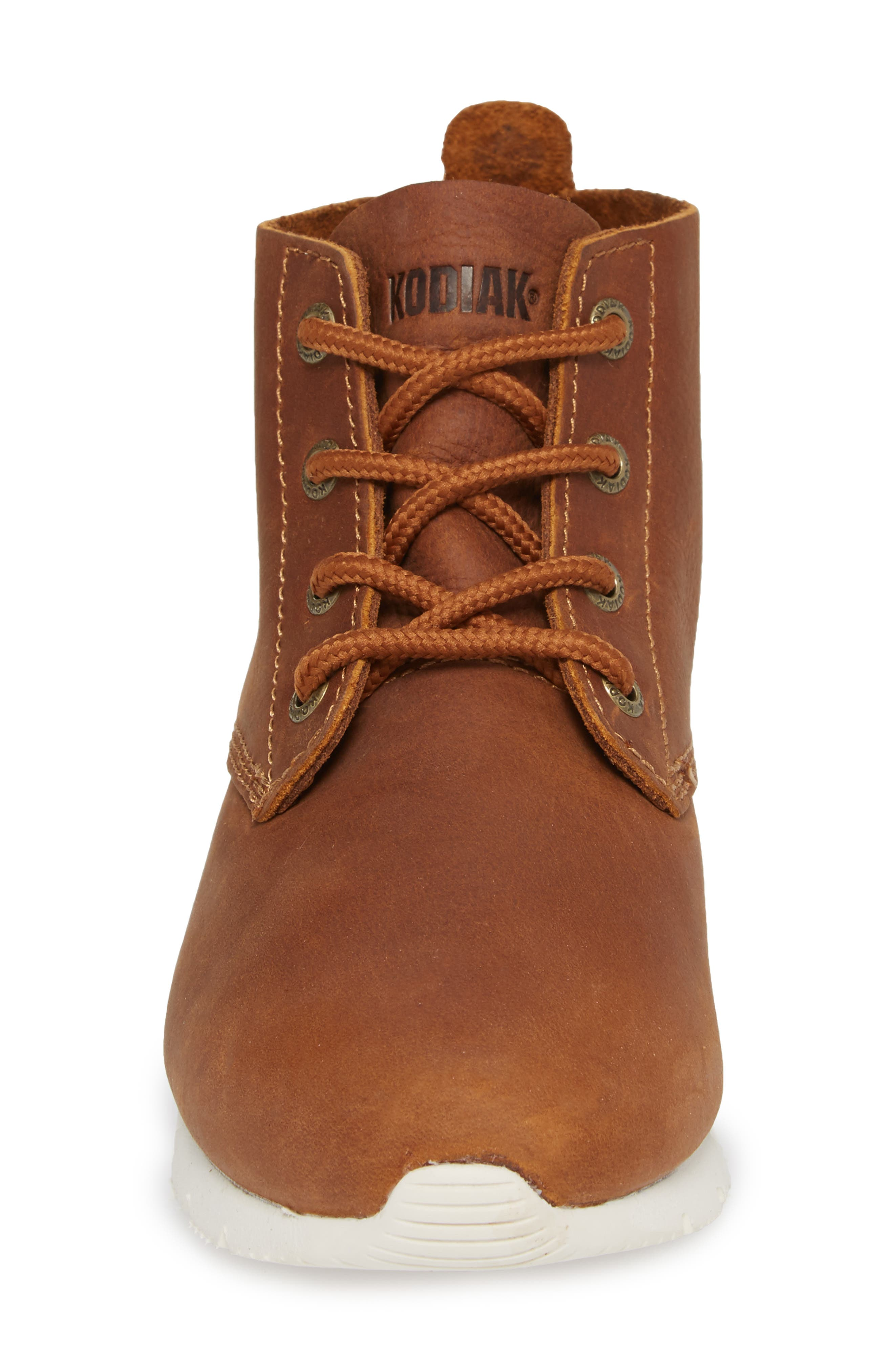 Chukka Boot,                             Alternate thumbnail 4, color,                             Peanut Leather