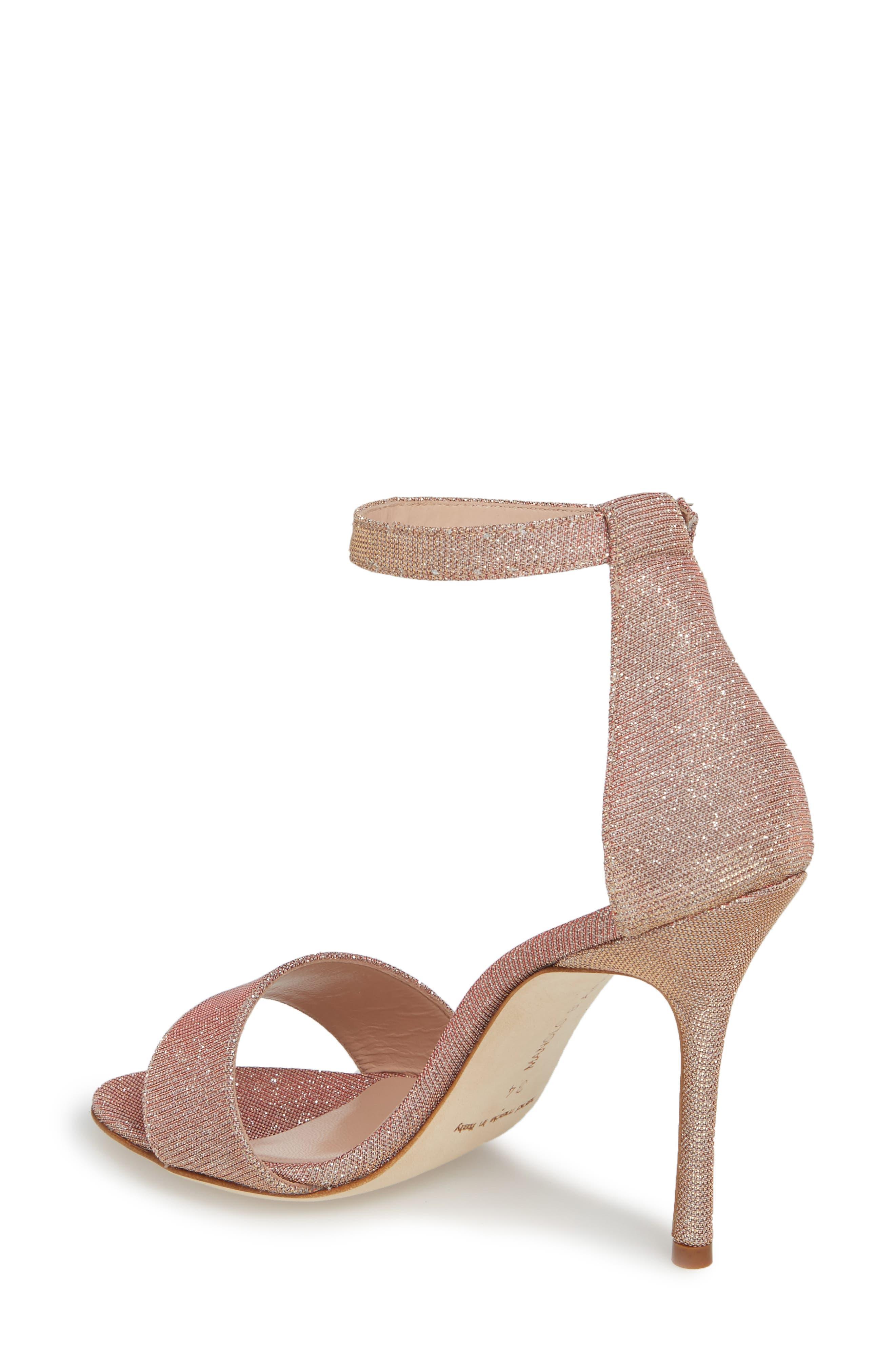 Tres Ankle Strap Sandal,                             Alternate thumbnail 2, color,                             Champagne Notturno