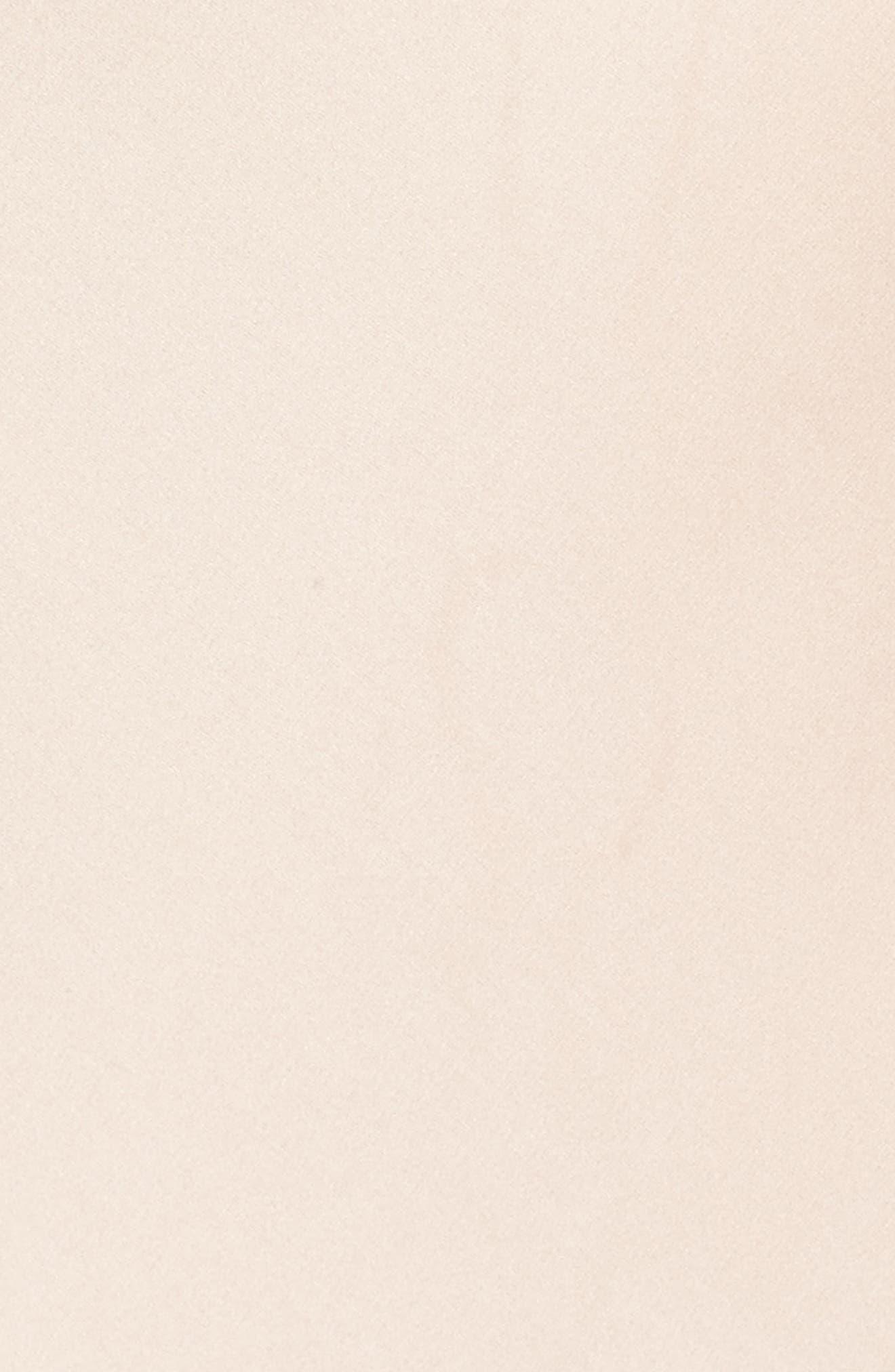 Kylie Ruffle Slipdress,                             Alternate thumbnail 5, color,                             Champagne