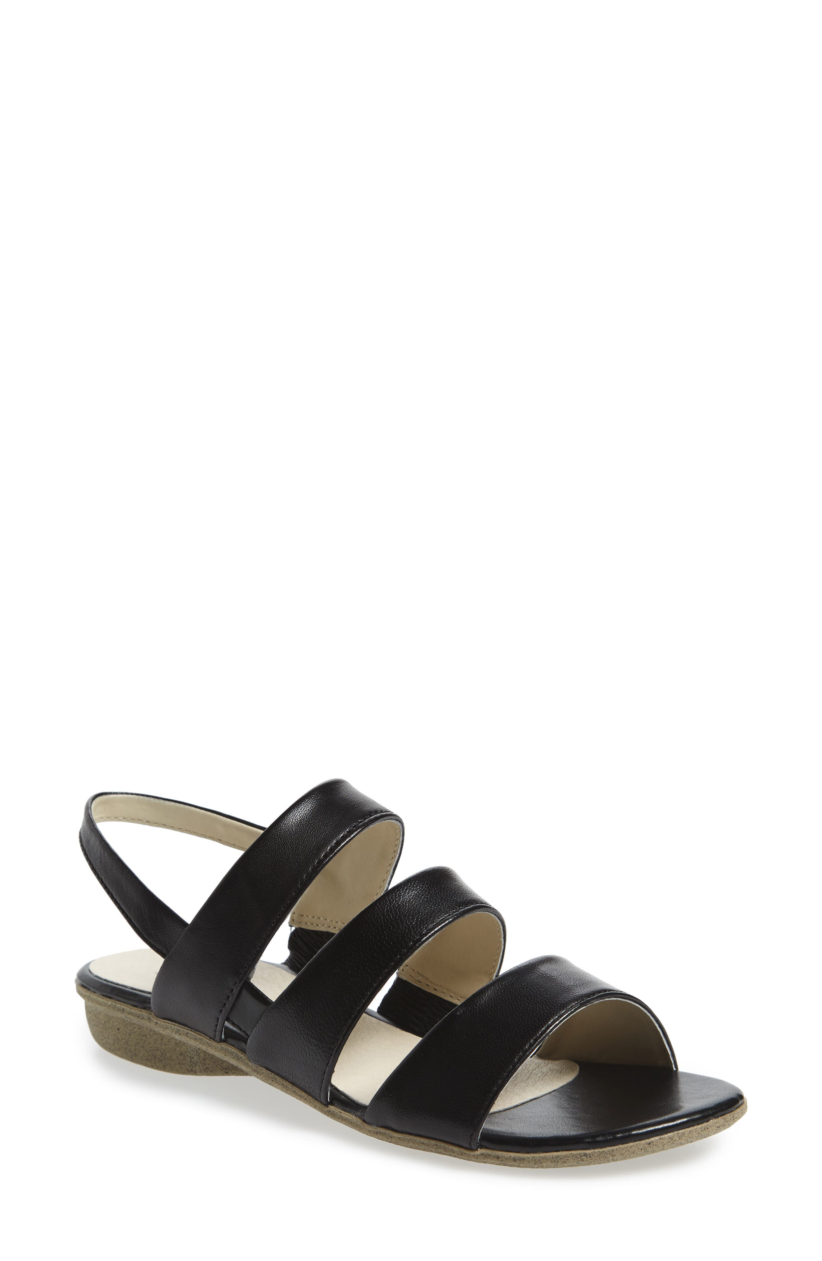 Fabia 11 Sandal,                         Main,                         color, Black