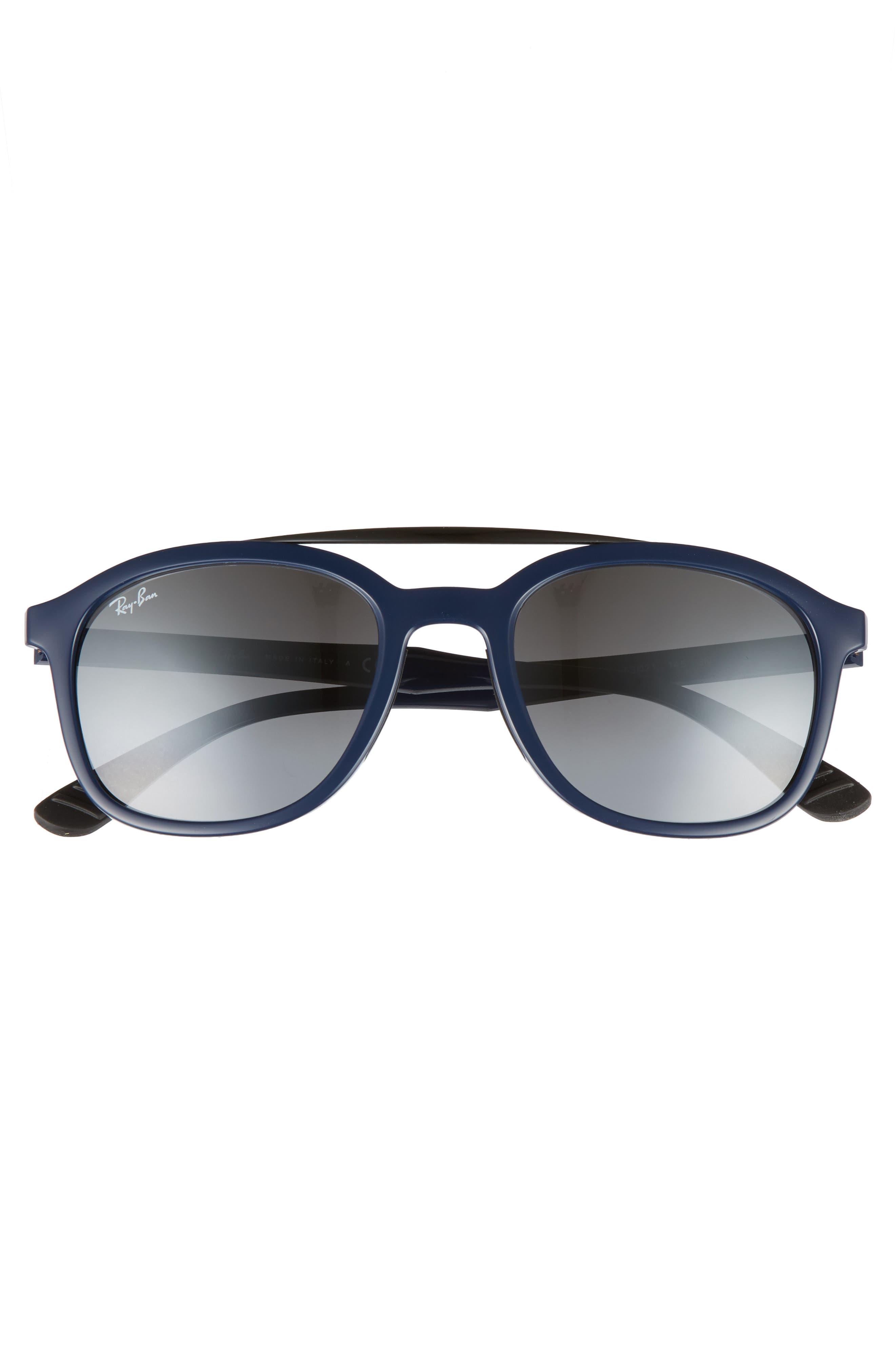 Active Lifestyle 53mm Sunglasses,                             Alternate thumbnail 2, color,                             Blue