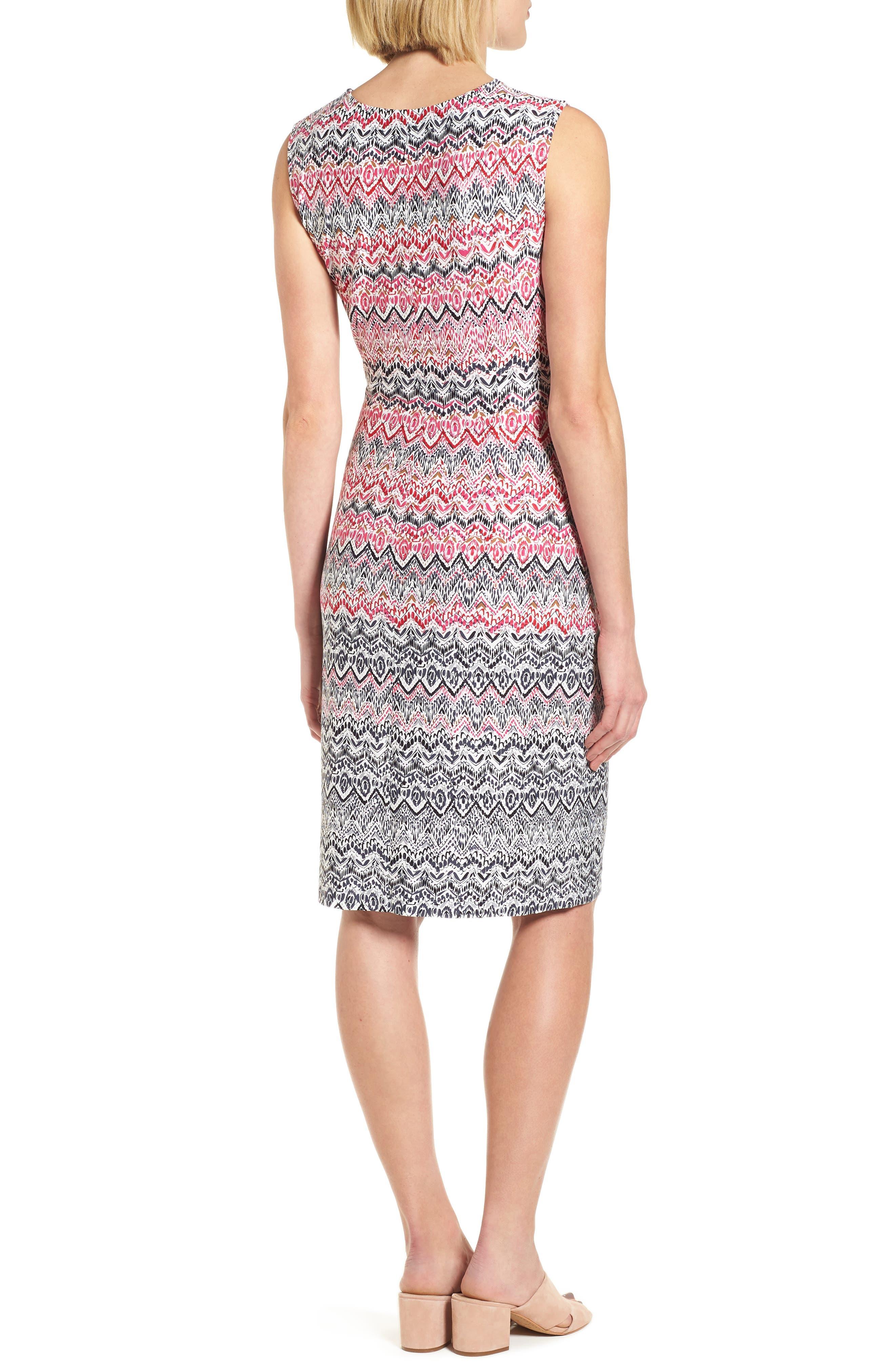 Alternate Image 2  - NIC+ZOE Spiced Up Twist Sheath Dress (Regular & Petite)