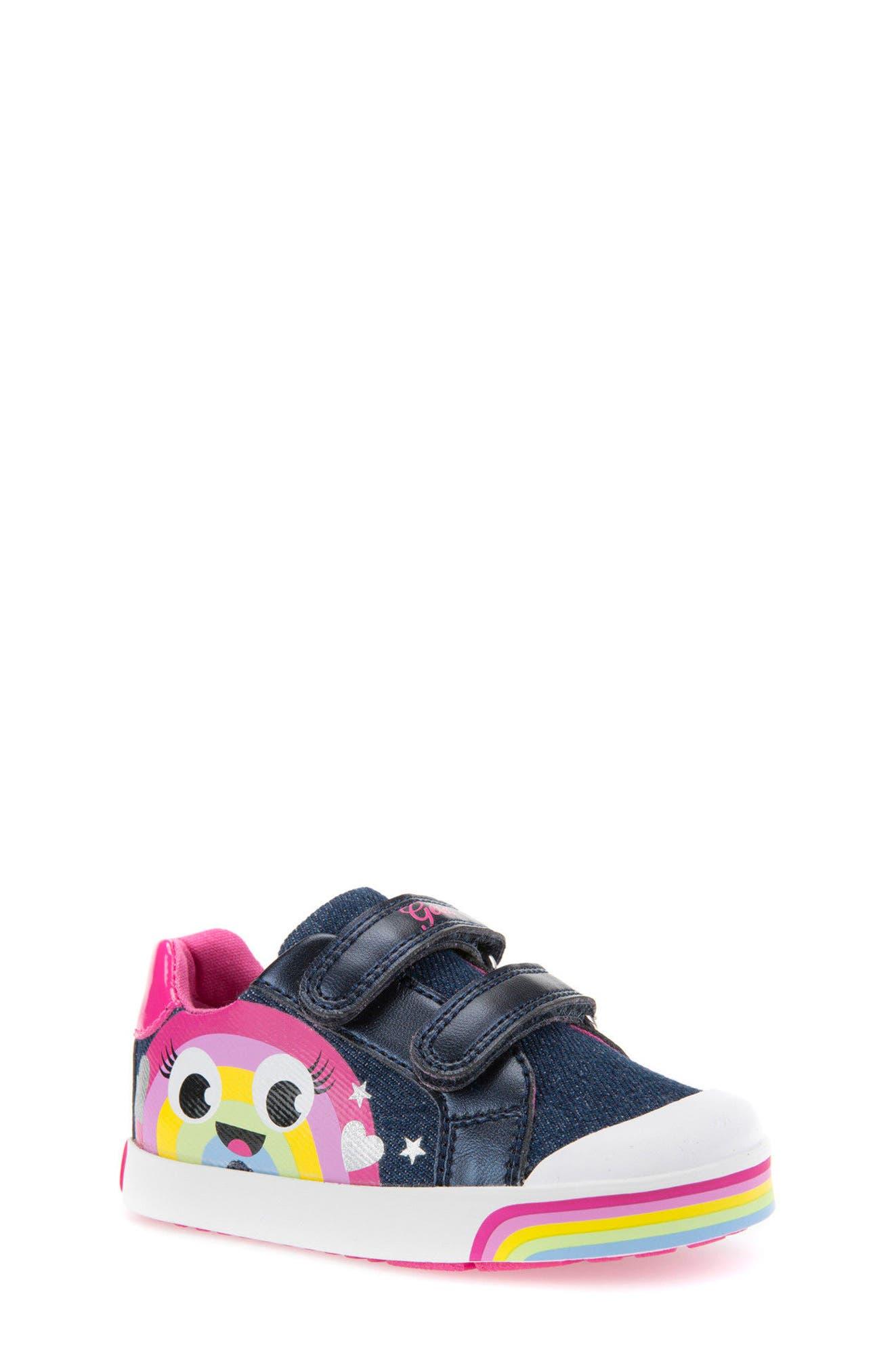 Geox Kilwi Low Top Sneaker (Walker & Toddler)