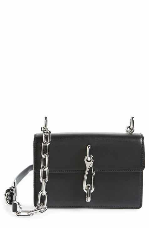 Alexander Wang Hook Small Leather Crossbody Bag