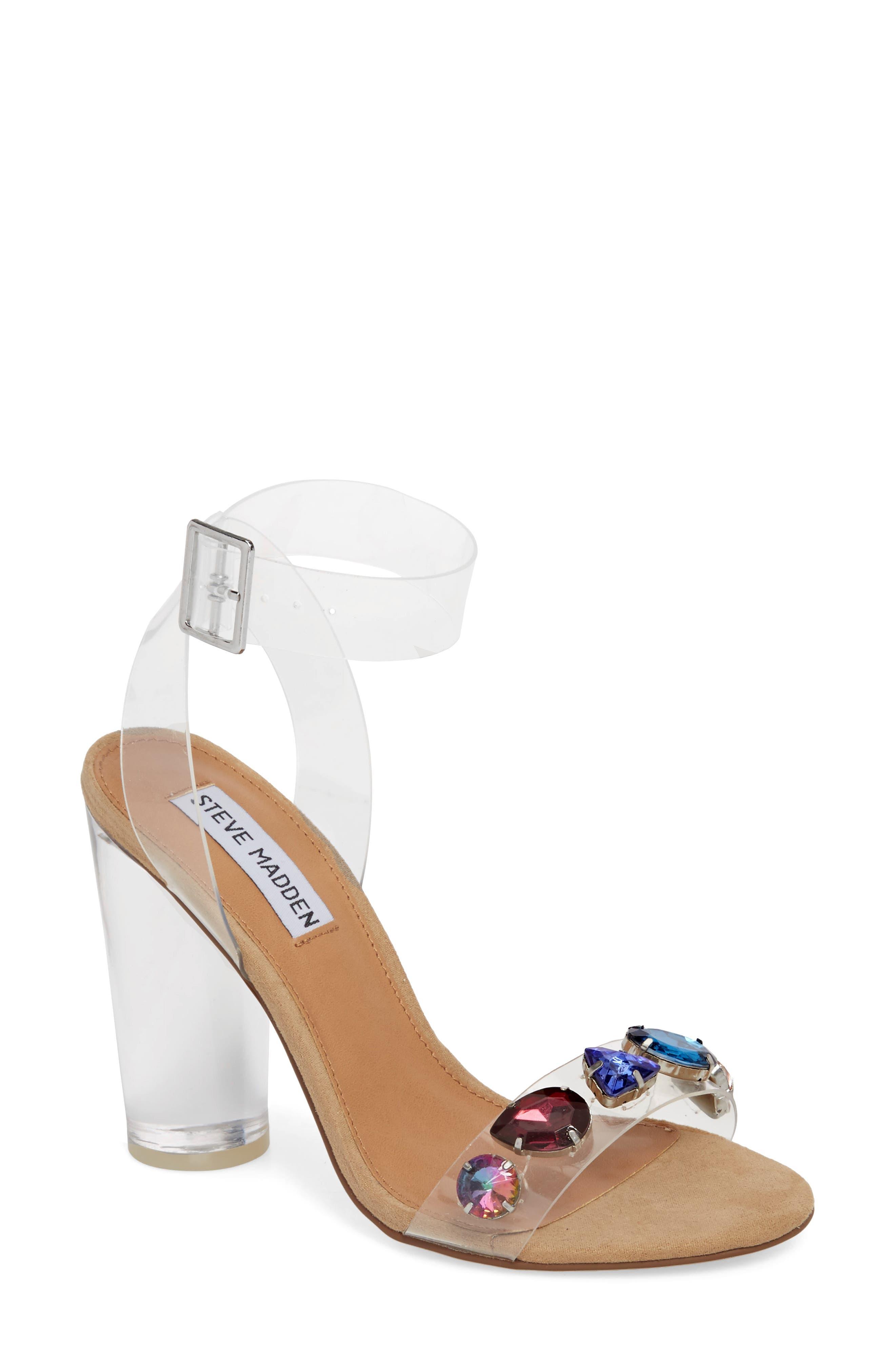 Control Sandal,                         Main,                         color, Clear