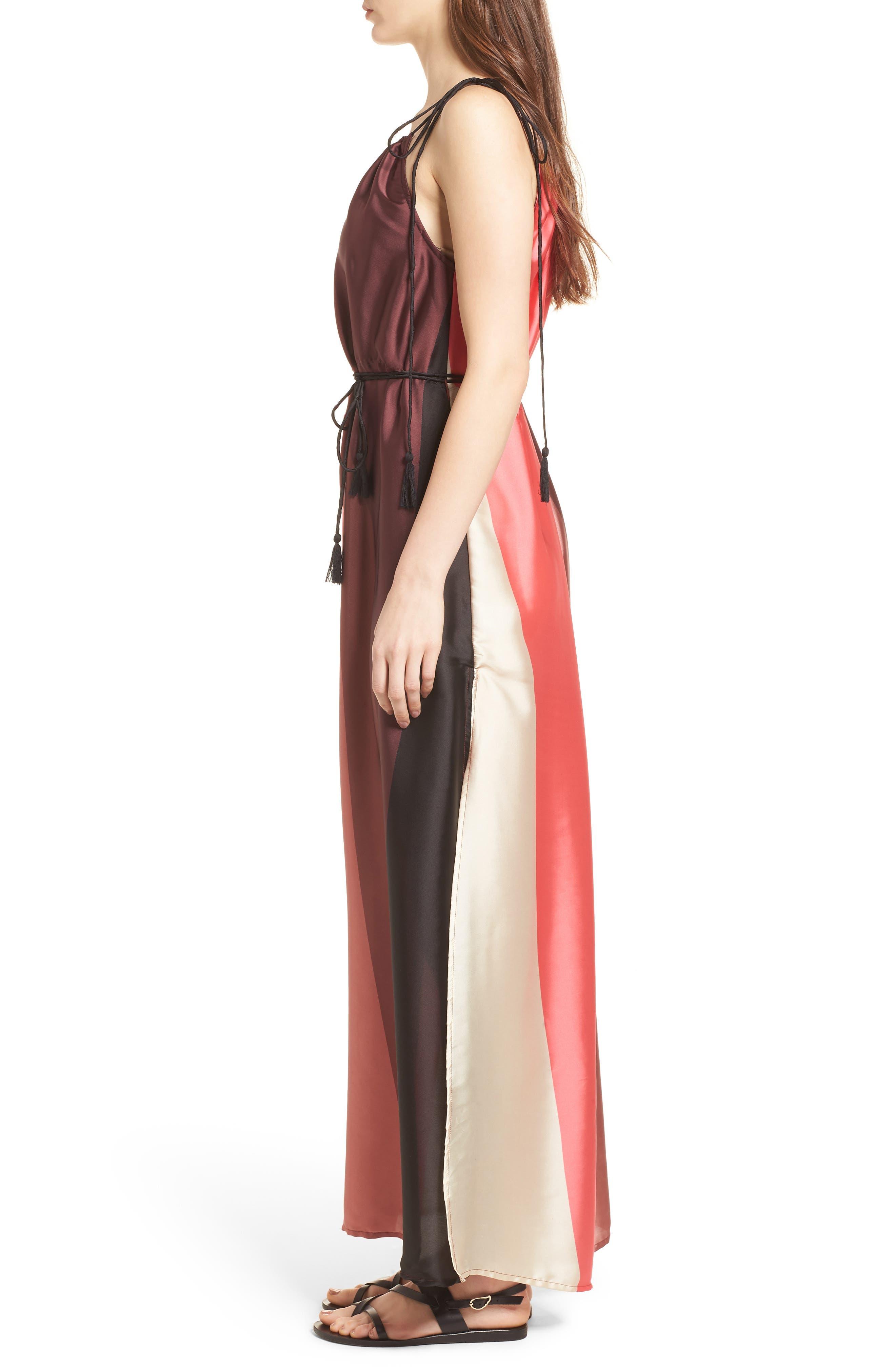 Icy Shores Maxi Dress,                             Alternate thumbnail 3, color,                             Multi