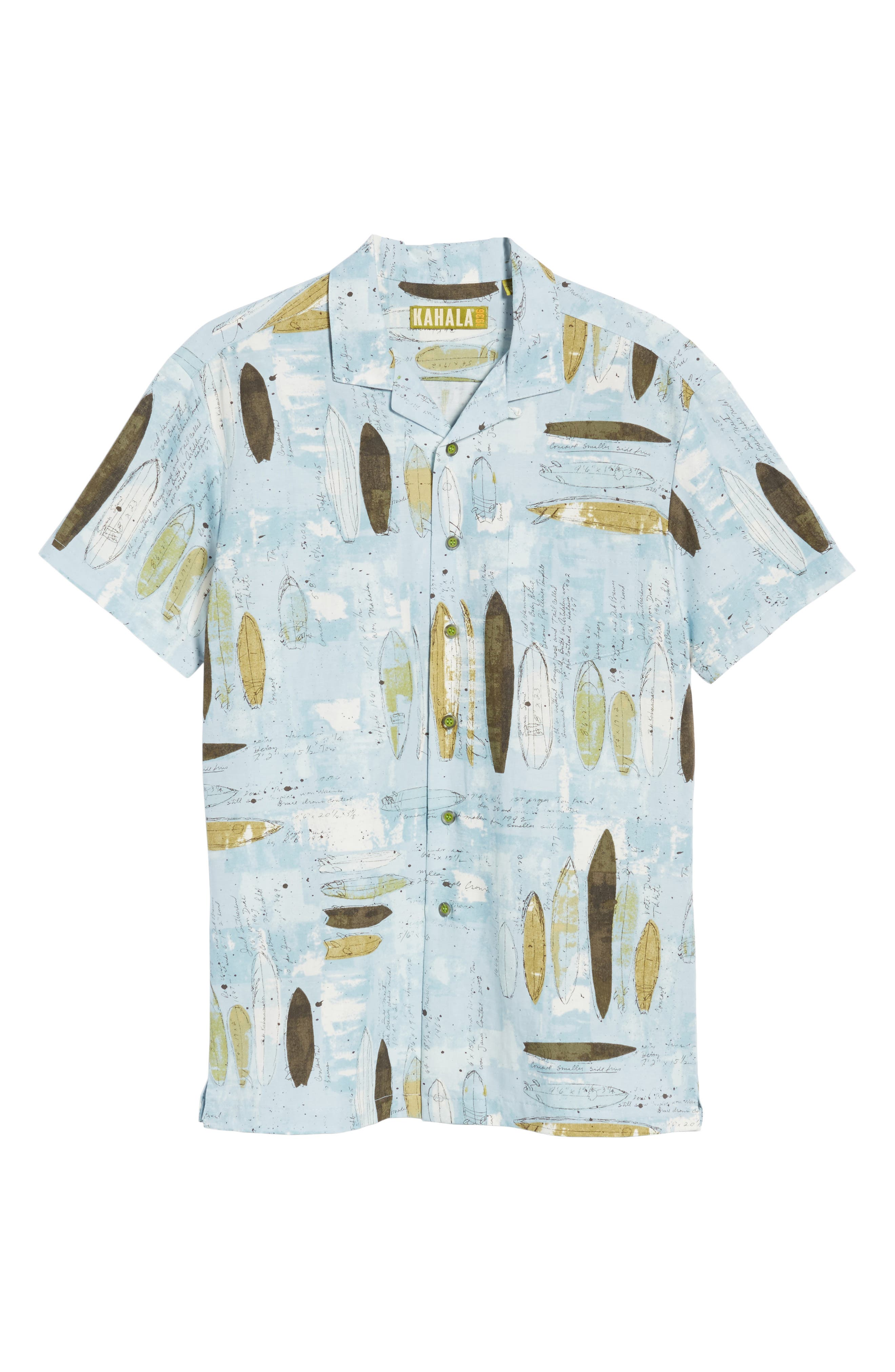 Shaping Room Regular Fit Camp Shirt,                             Alternate thumbnail 6, color,                             Surf