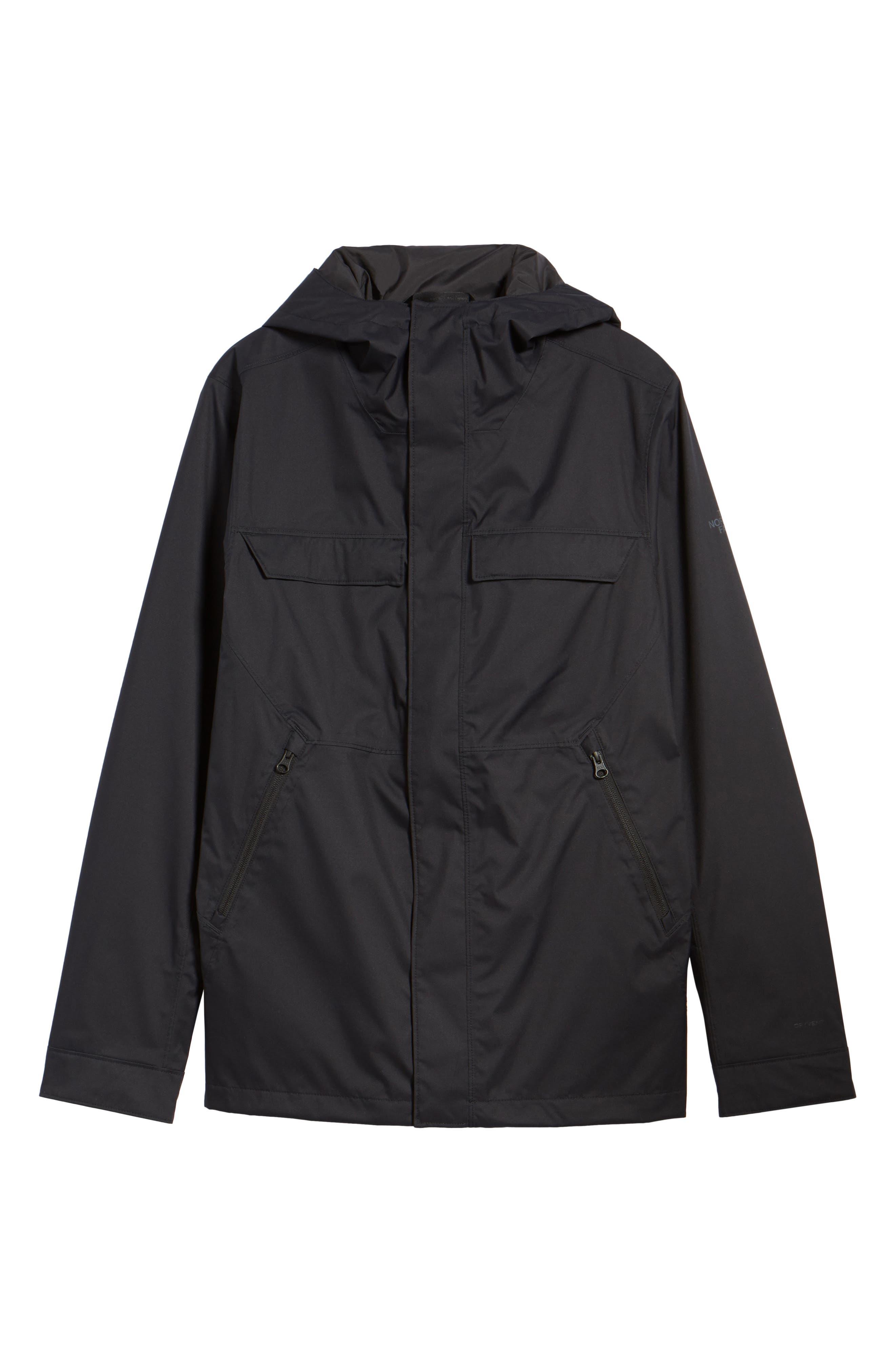 Jenison II Insulated Waterproof Jacket,                             Alternate thumbnail 6, color,                             Tnf Black