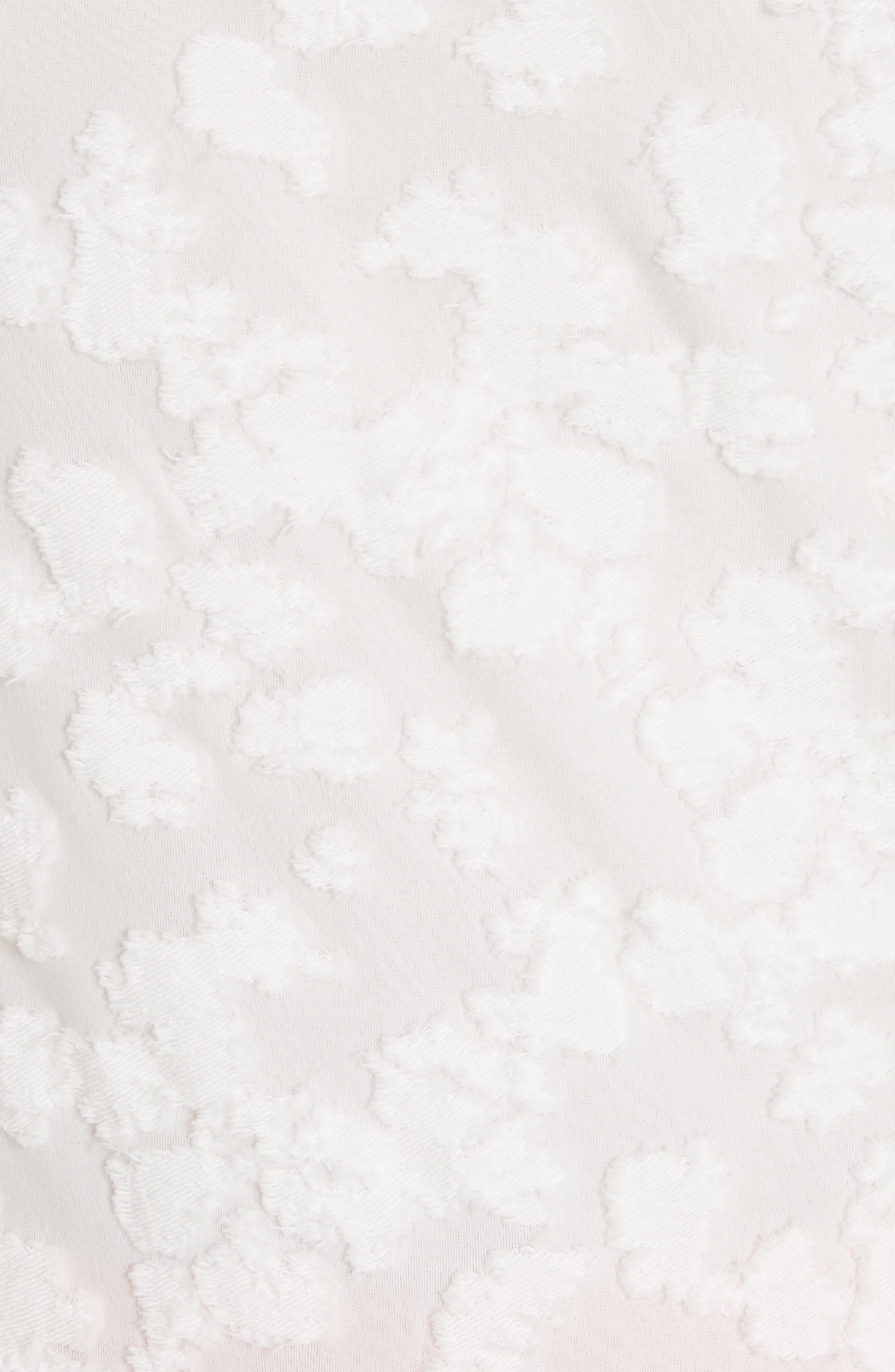 Alternate Image 5  - rag & bone Lucie Floral Jacquard Sweater