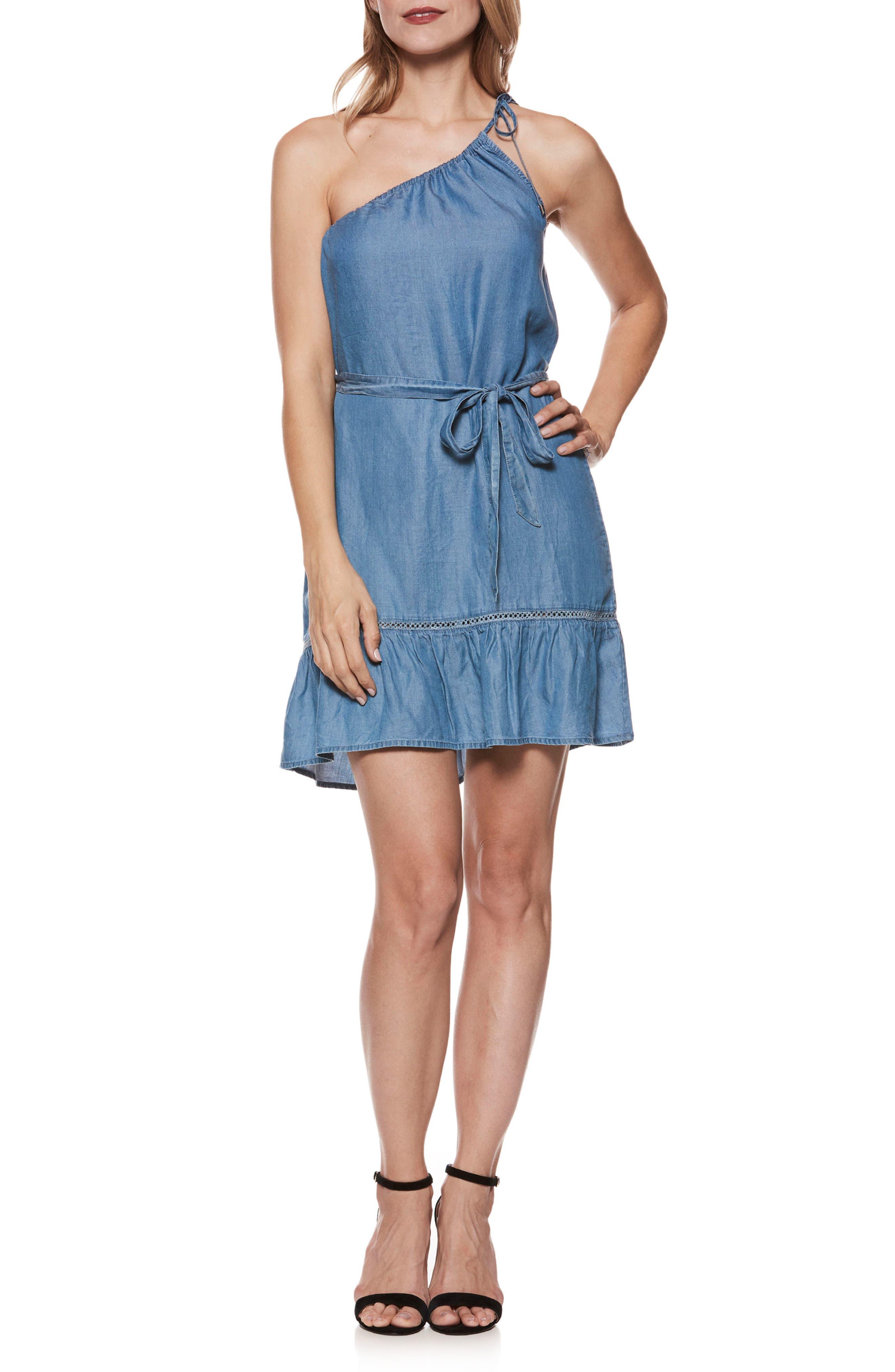 Lauretta Dress,                         Main,                         color, Reva