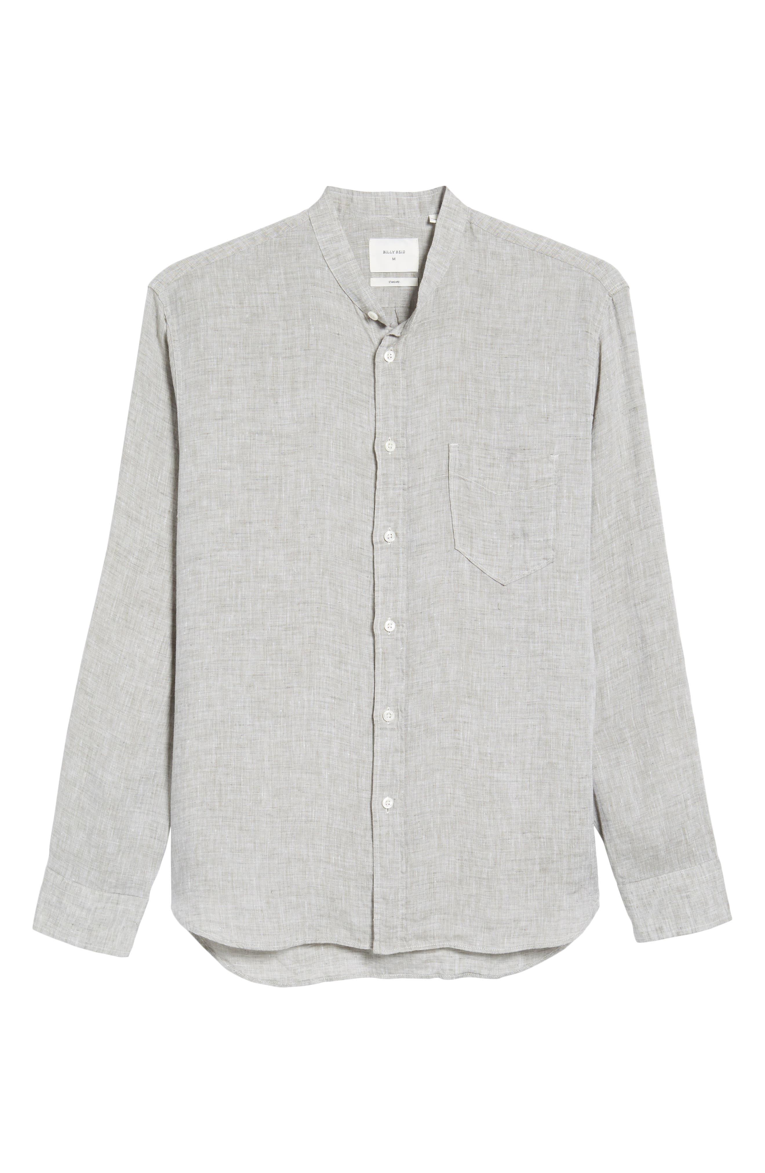 Crawford Sport Shirt,                             Alternate thumbnail 6, color,                             Grey