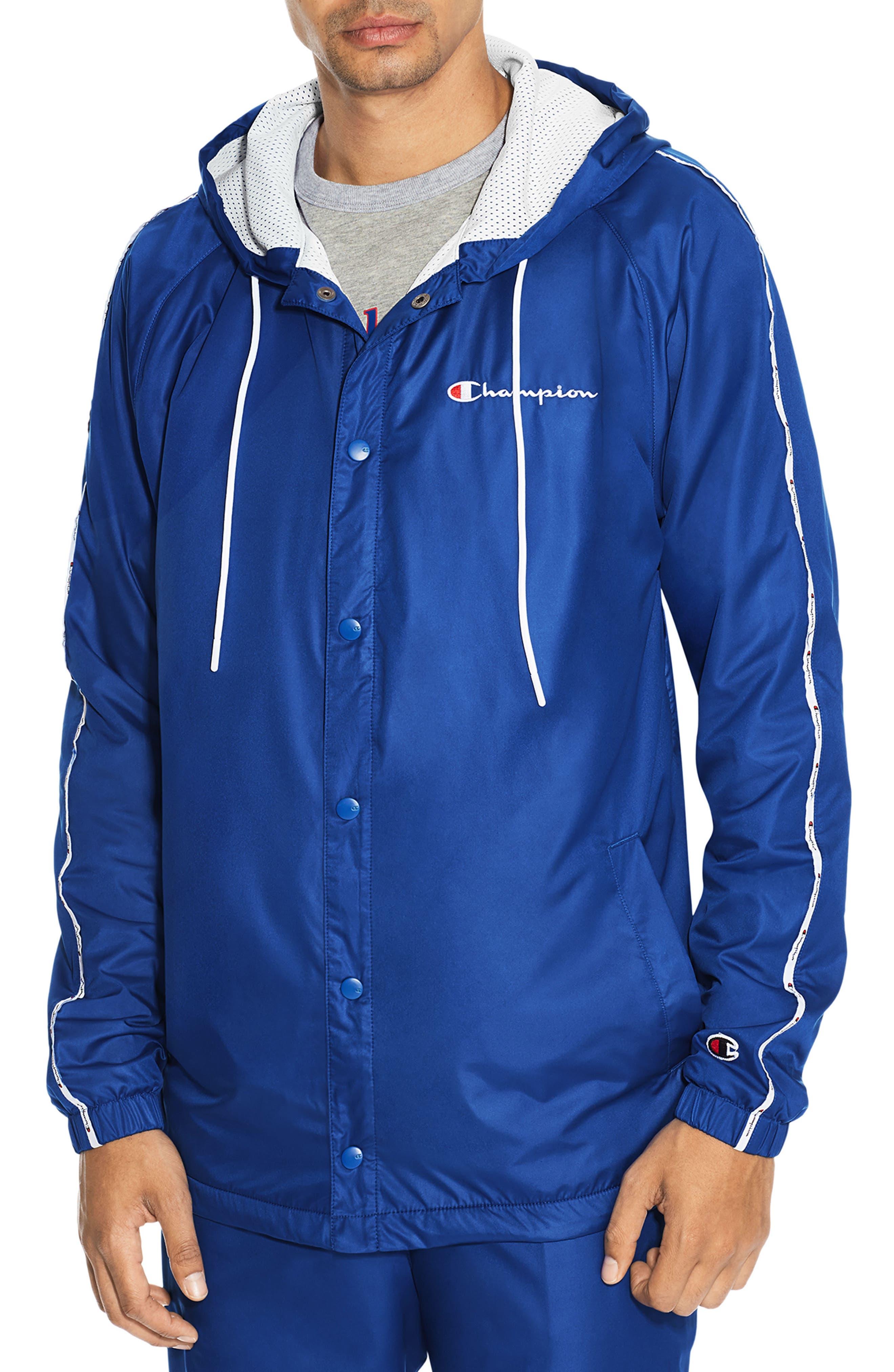 Main Image - Champion Satin Hooded Jacket
