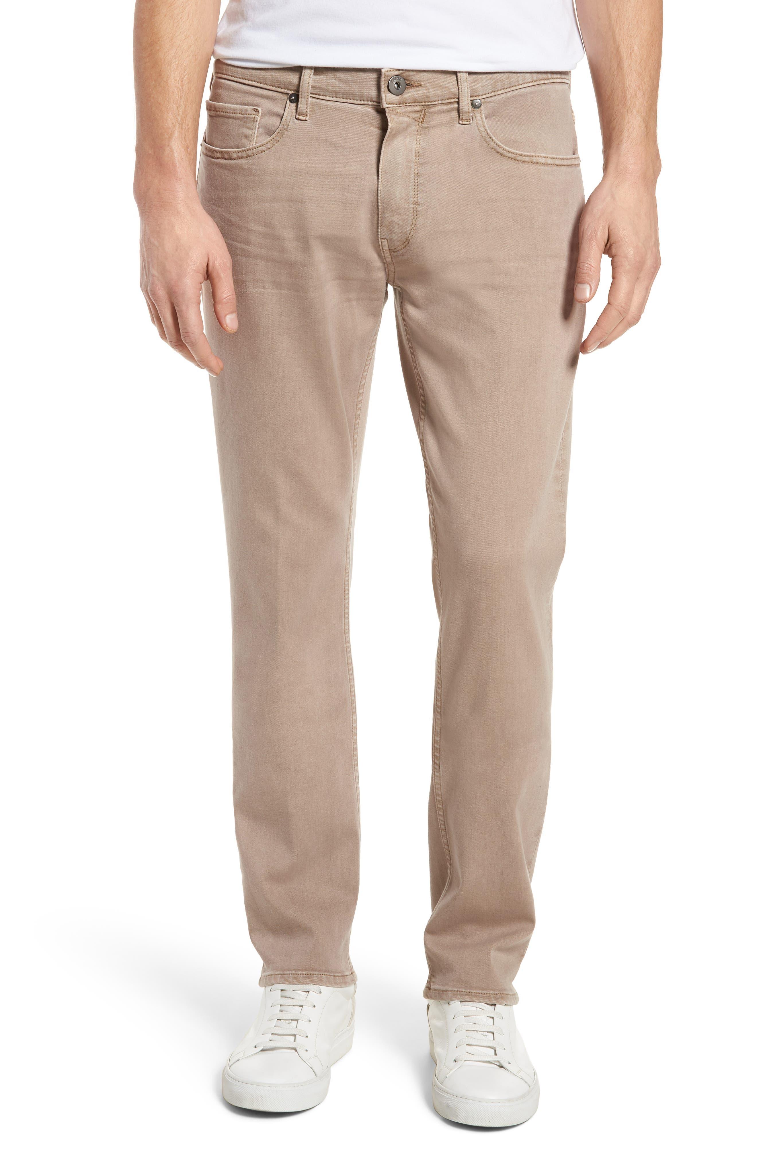 PAIGE Federal Slim Straight Leg Jeans (Vintage Dune)