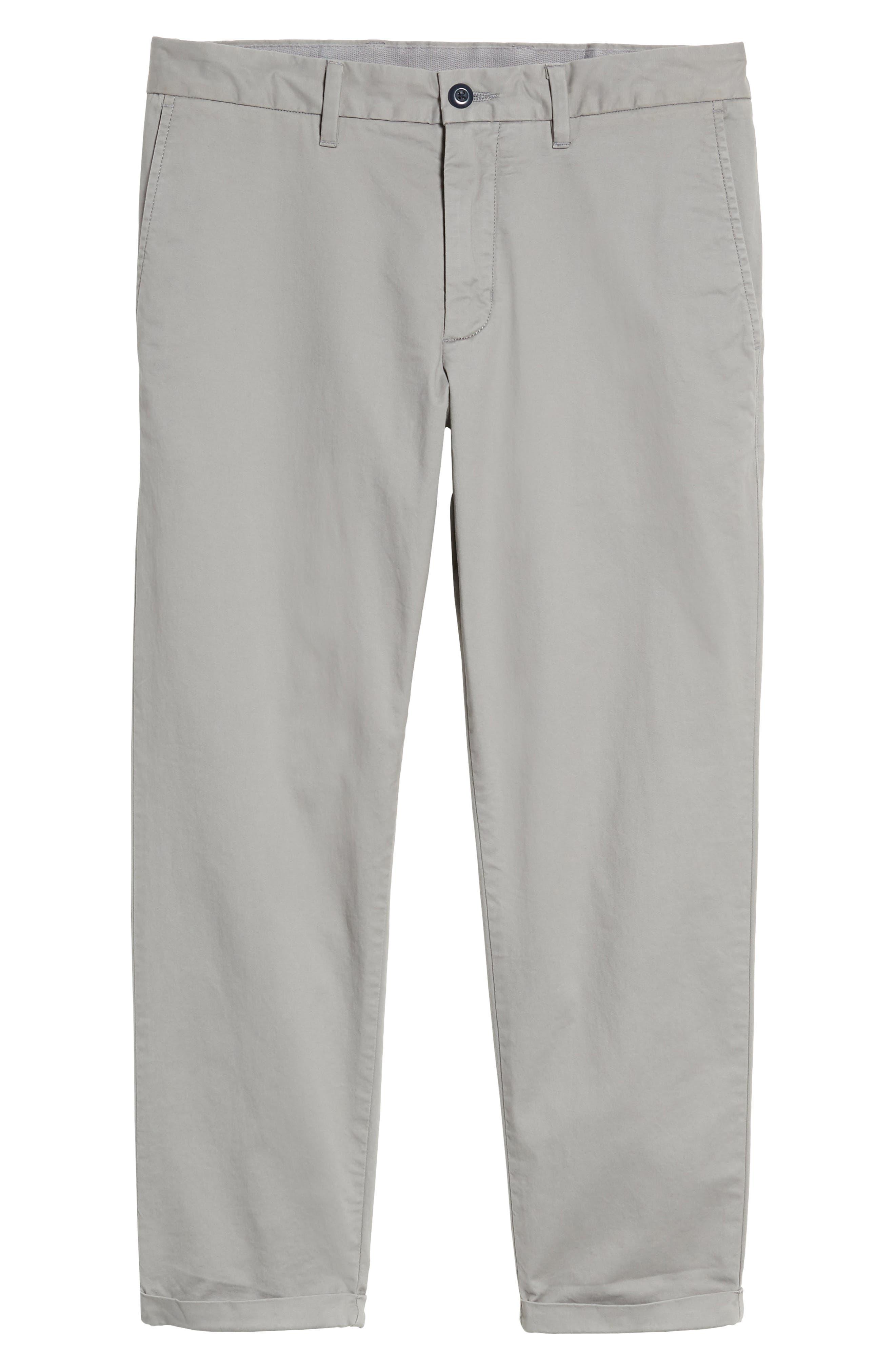 Alternate Image 6  - 1901 Crop Chino Pants