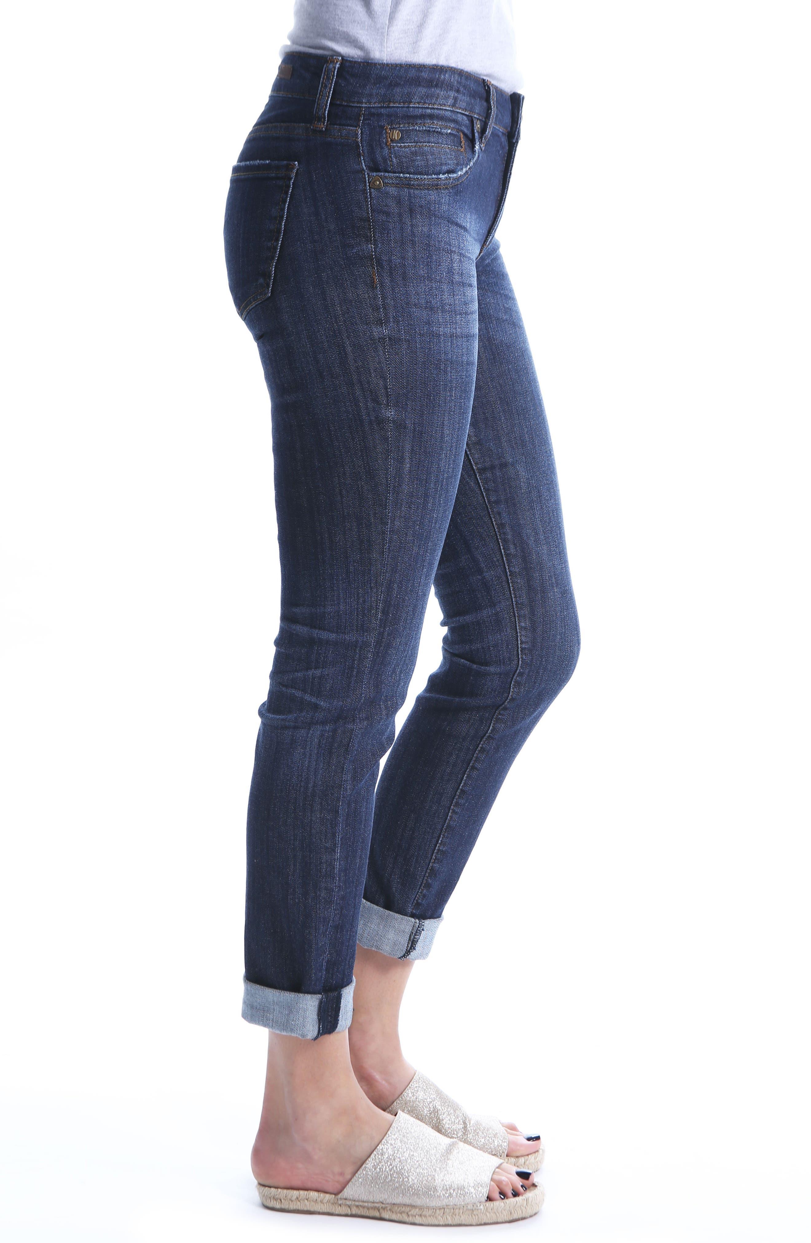 Alternate Image 3  - KUT from the Kloth Catherine Boyfriend Jeans (Regular & Petite) (Enticement)