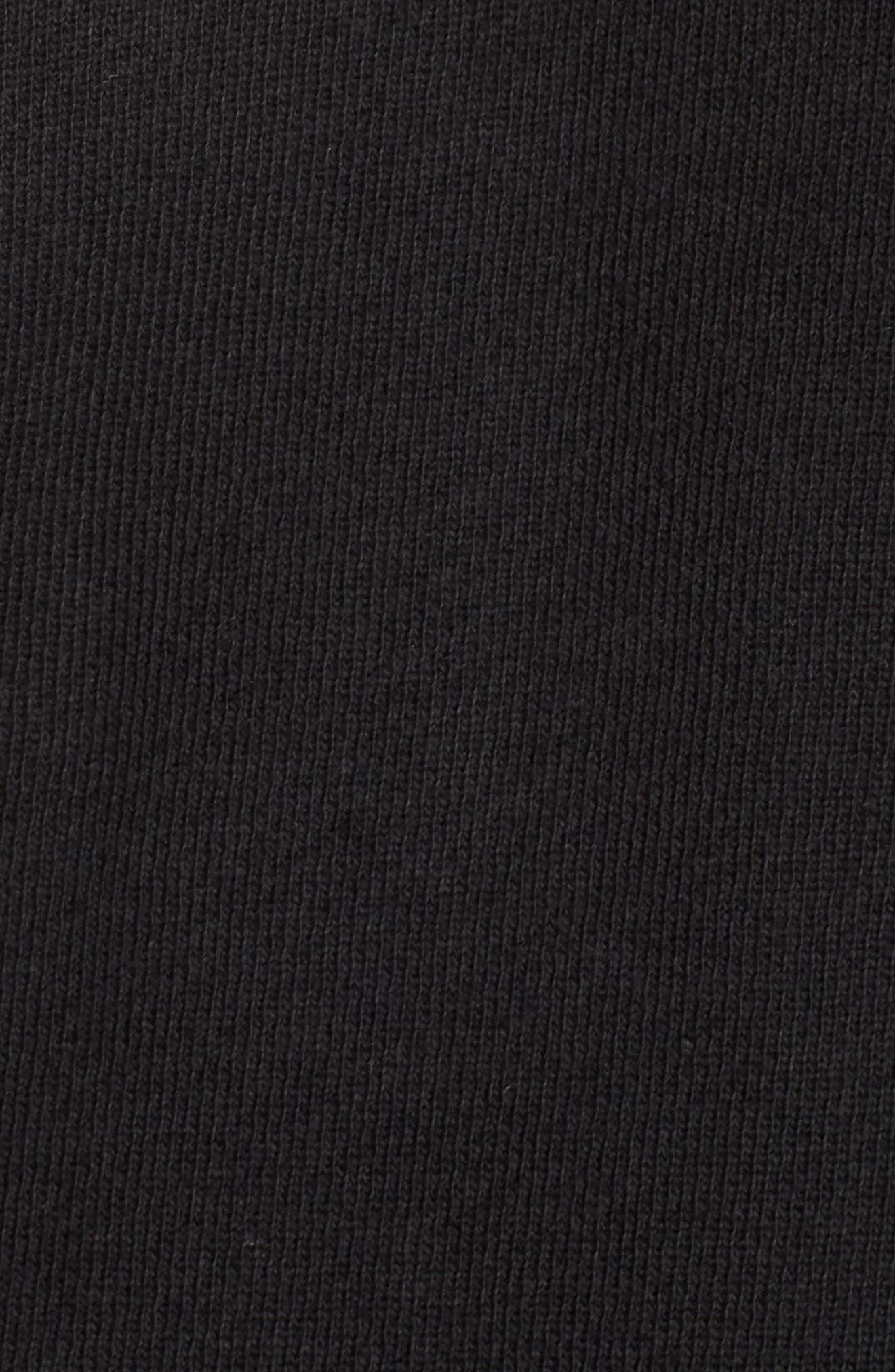 Harness Strap Sweatshirt,                             Alternate thumbnail 6, color,                             Black