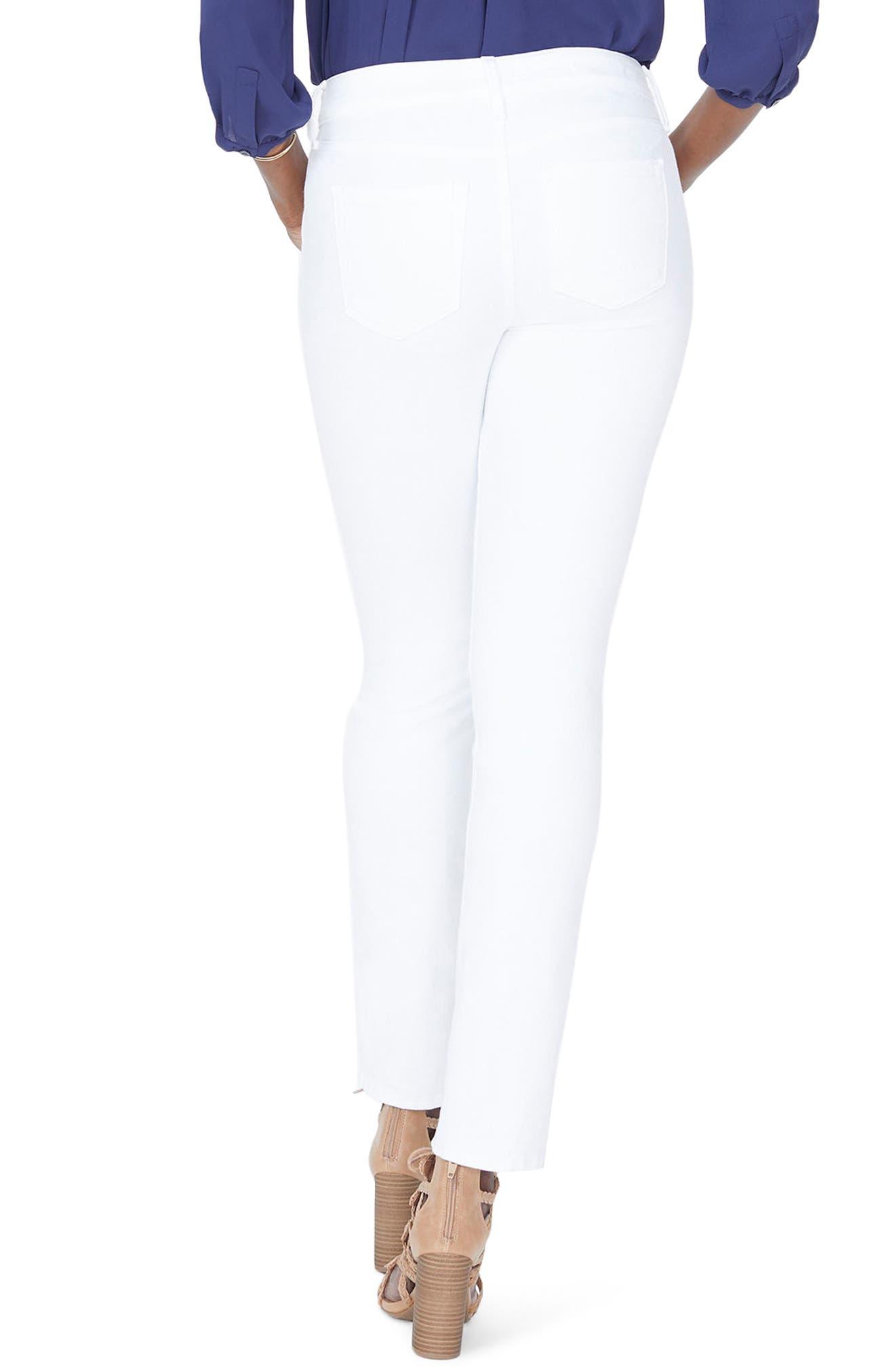 Sheri Slim Jeans,                             Alternate thumbnail 2, color,                             Optic White