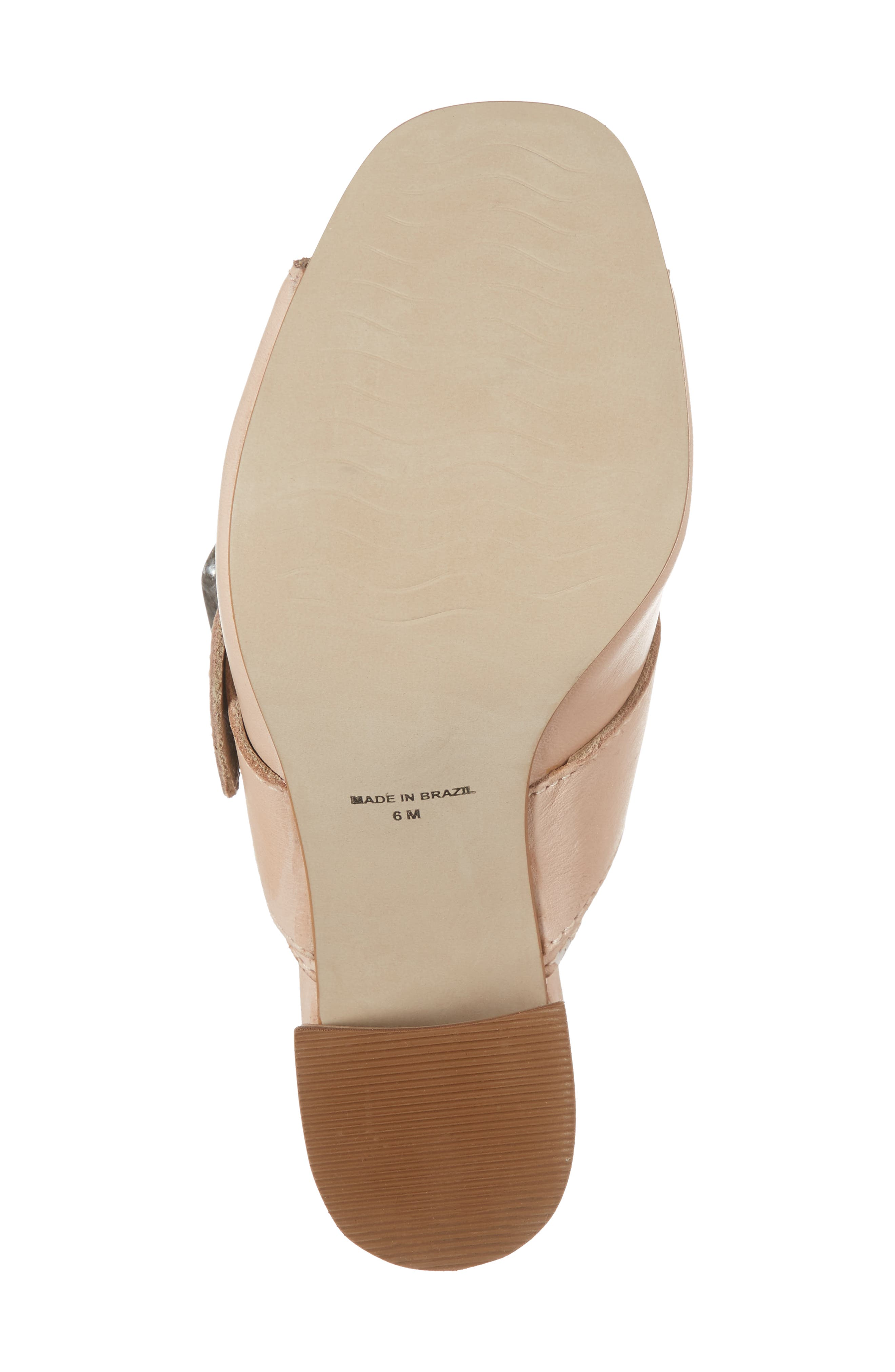 Beatrice Sandal,                             Alternate thumbnail 6, color,                             Nude Leather