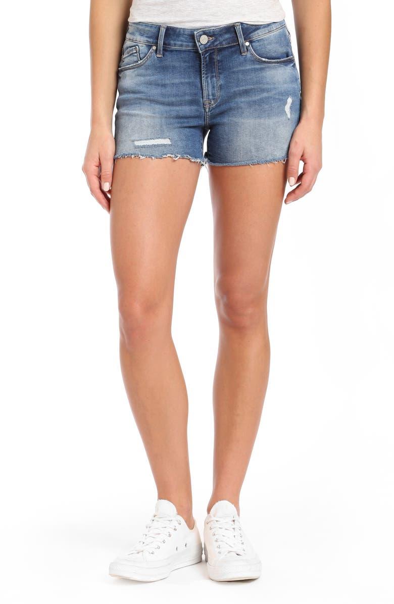 Emily Cutoff Denim Shorts