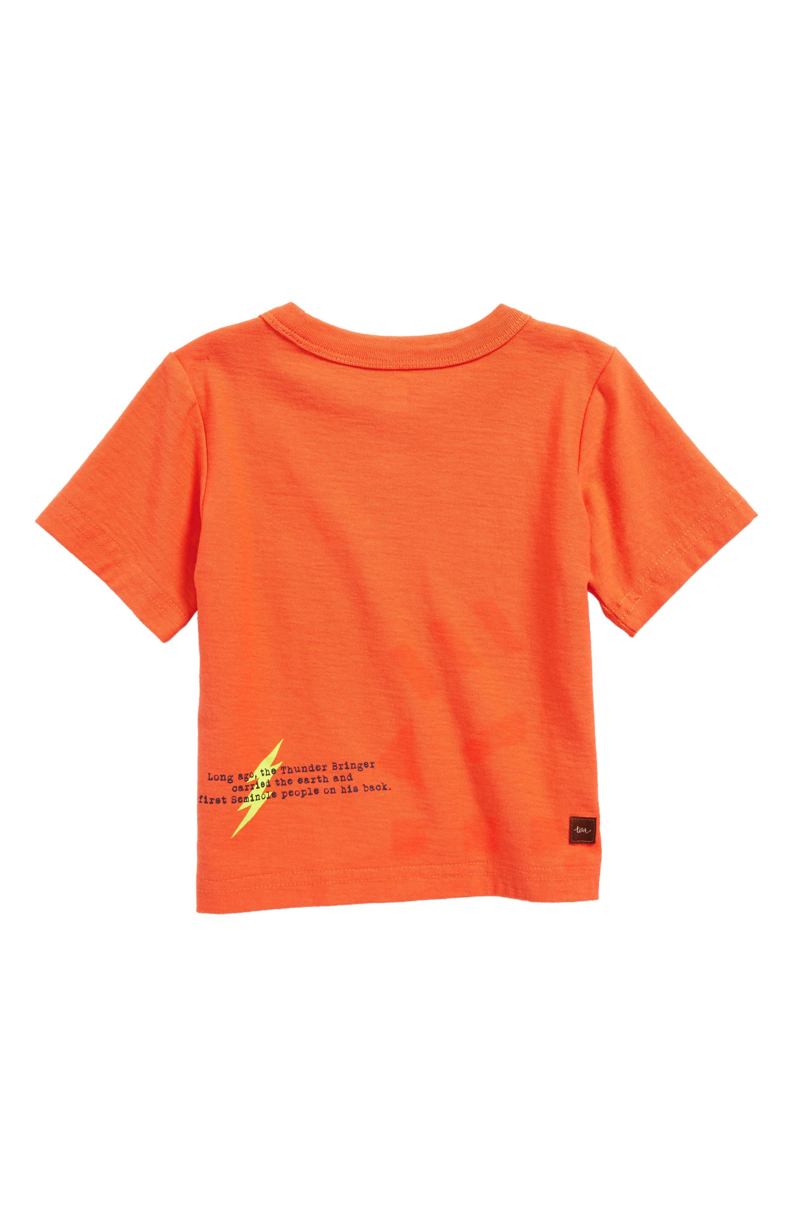 Alternate Image 2  - Tea Collection Thunder Bringer Graphic T-Shirt (Baby Boys)
