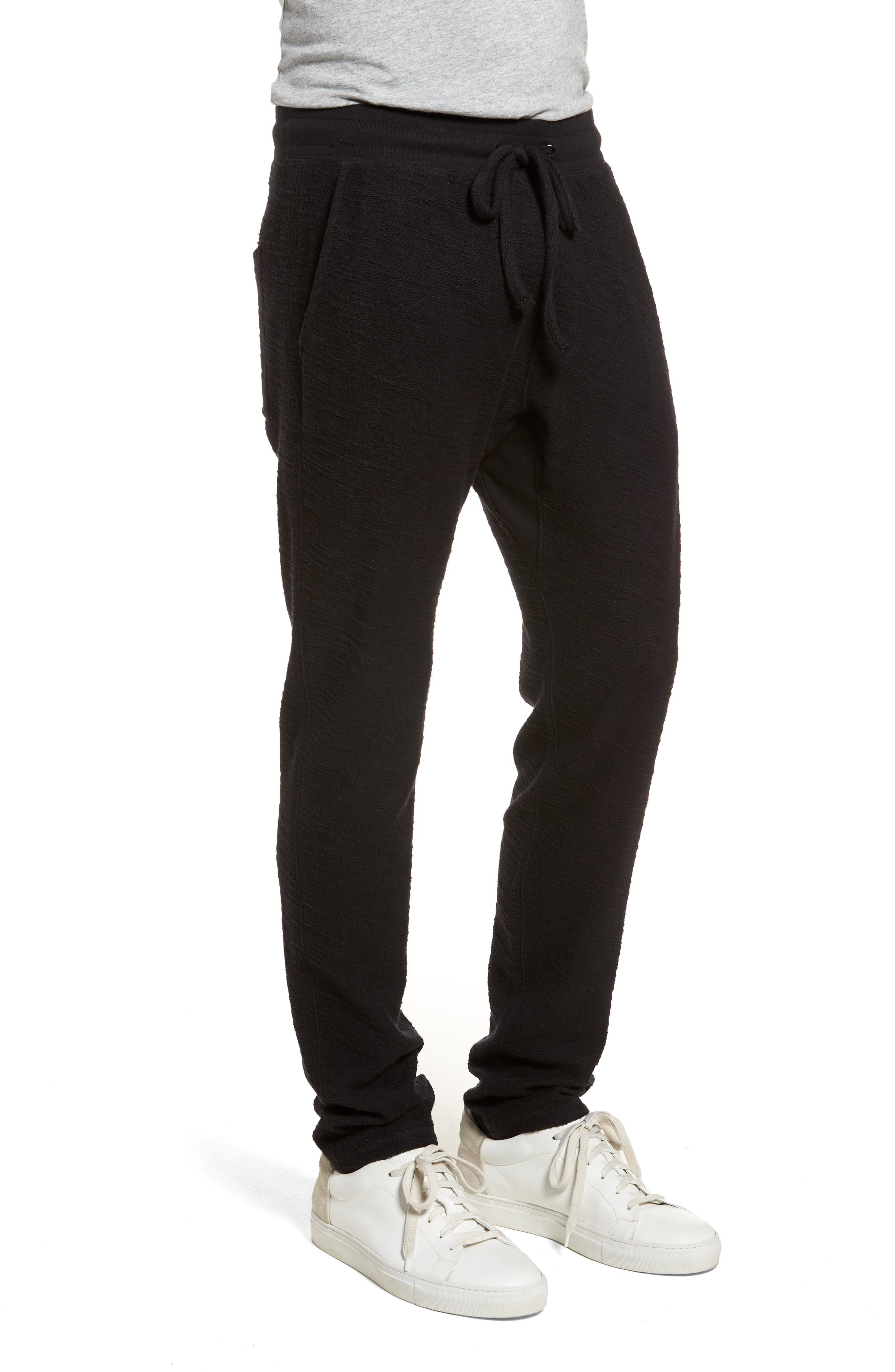 Alternate Image 3  - Goodlife Terry Cloth Cotton Blend Pants