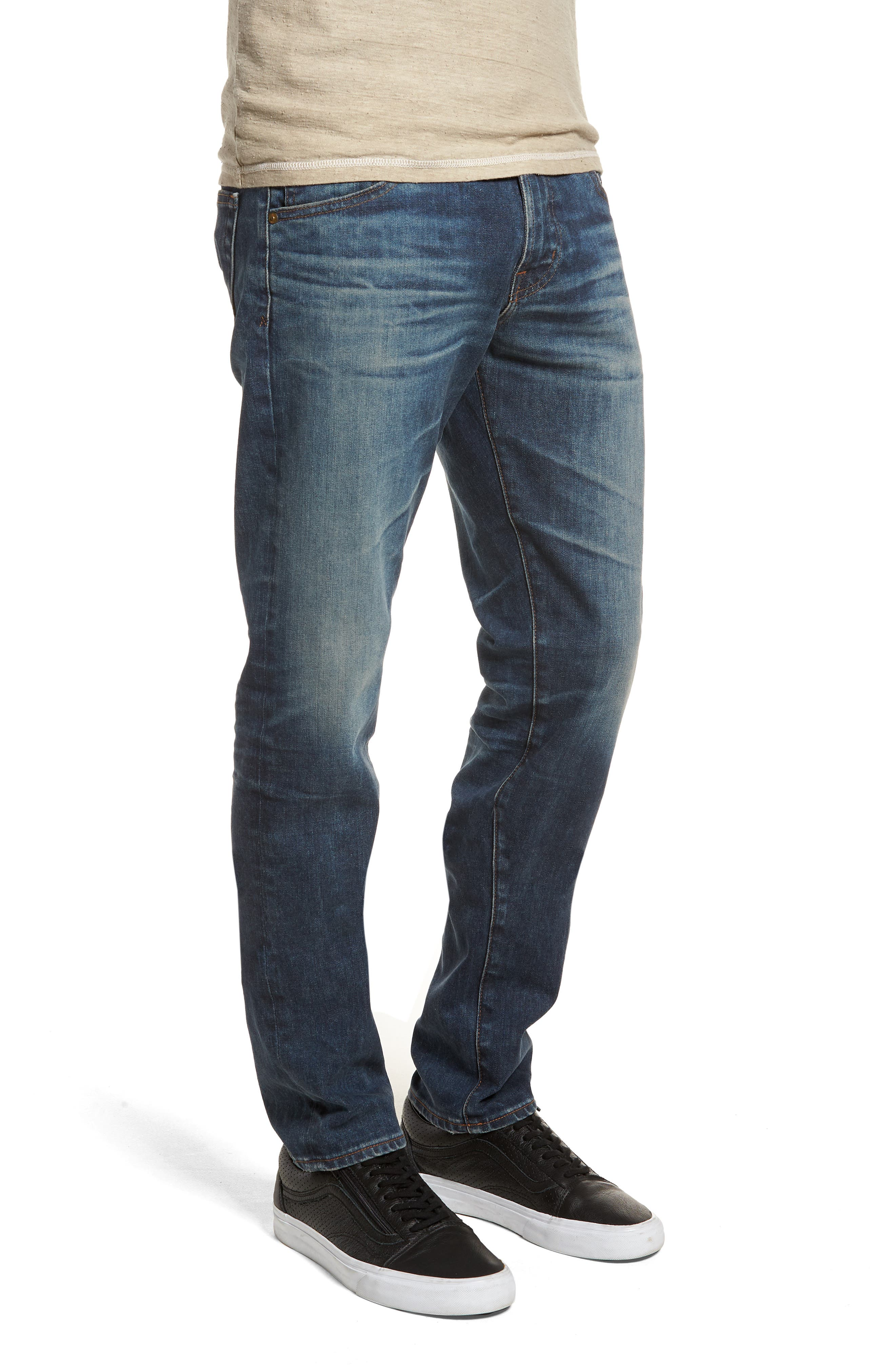 Dylan Slim Skinny Fit Jeans,                             Alternate thumbnail 3, color,                             12 Years River Veil