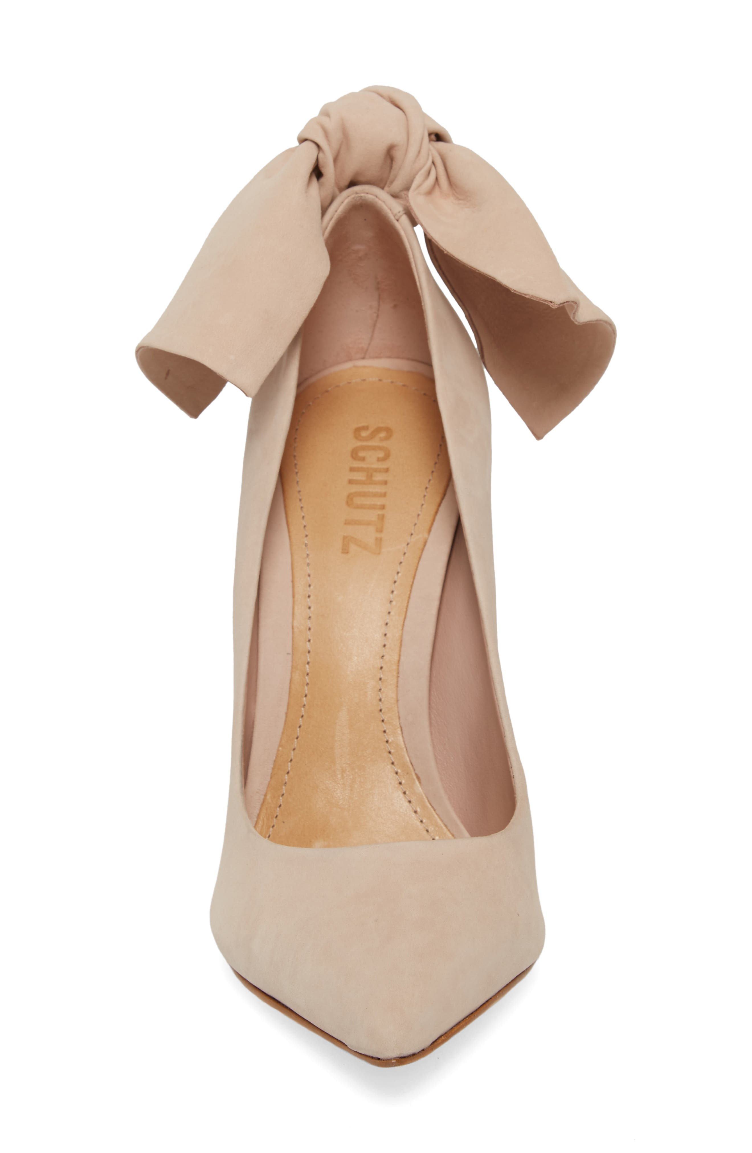 Blasiana Bow Pump,                             Alternate thumbnail 4, color,                             Bellini Leather