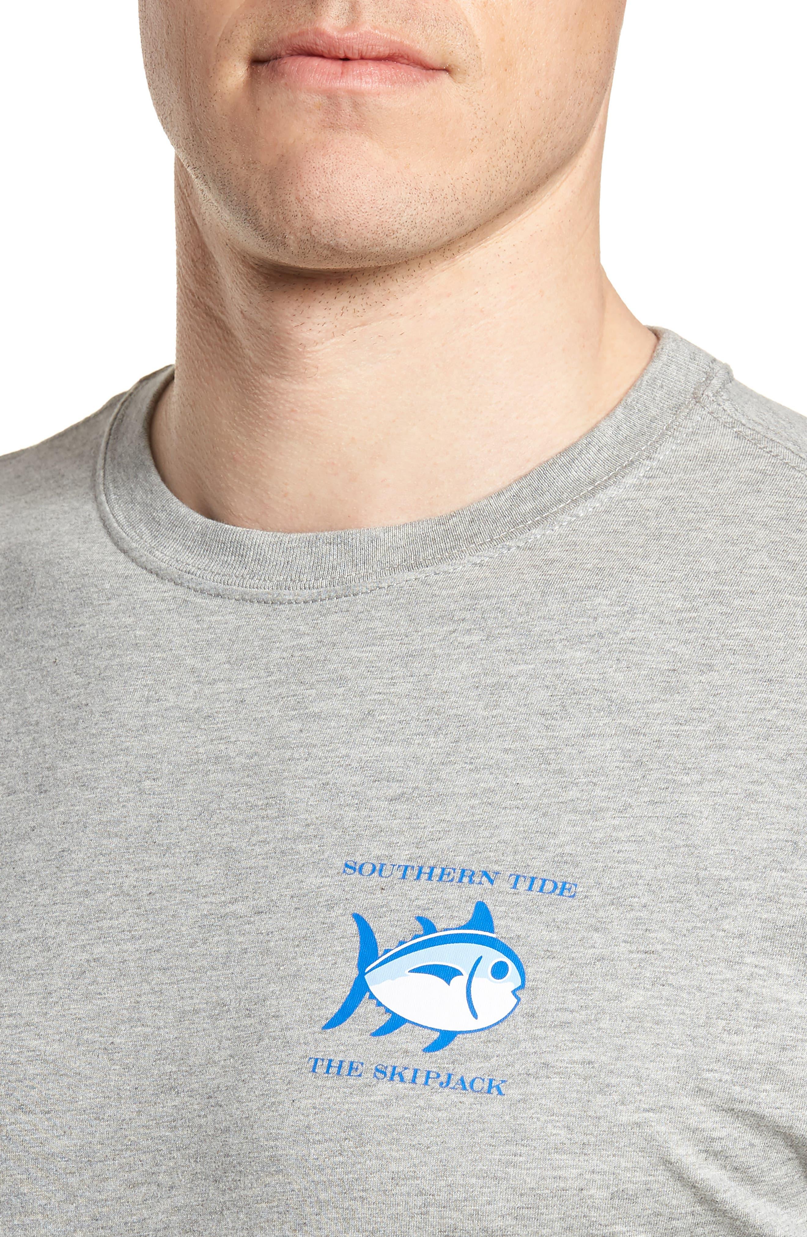 Original Skipjack T-Shirt,                             Alternate thumbnail 4, color,                             Grey