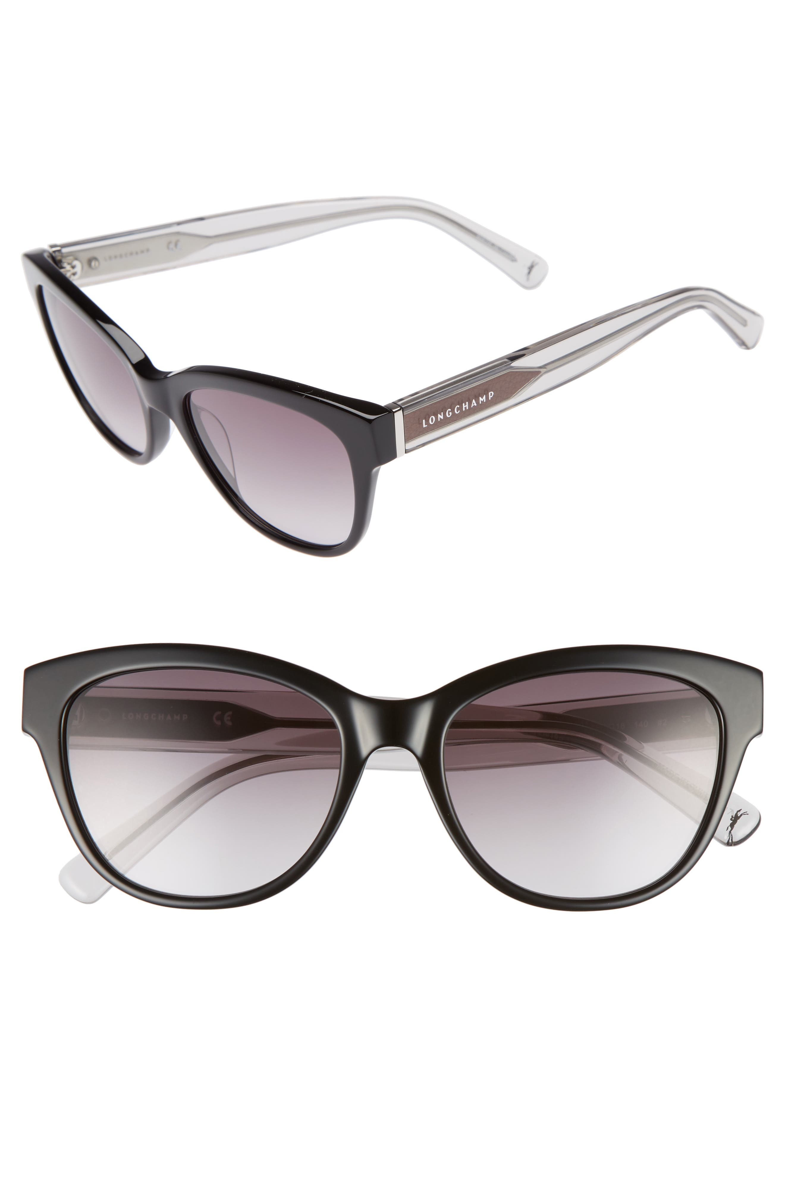 Longchamp 54mm Gradient Lens Sunglasses