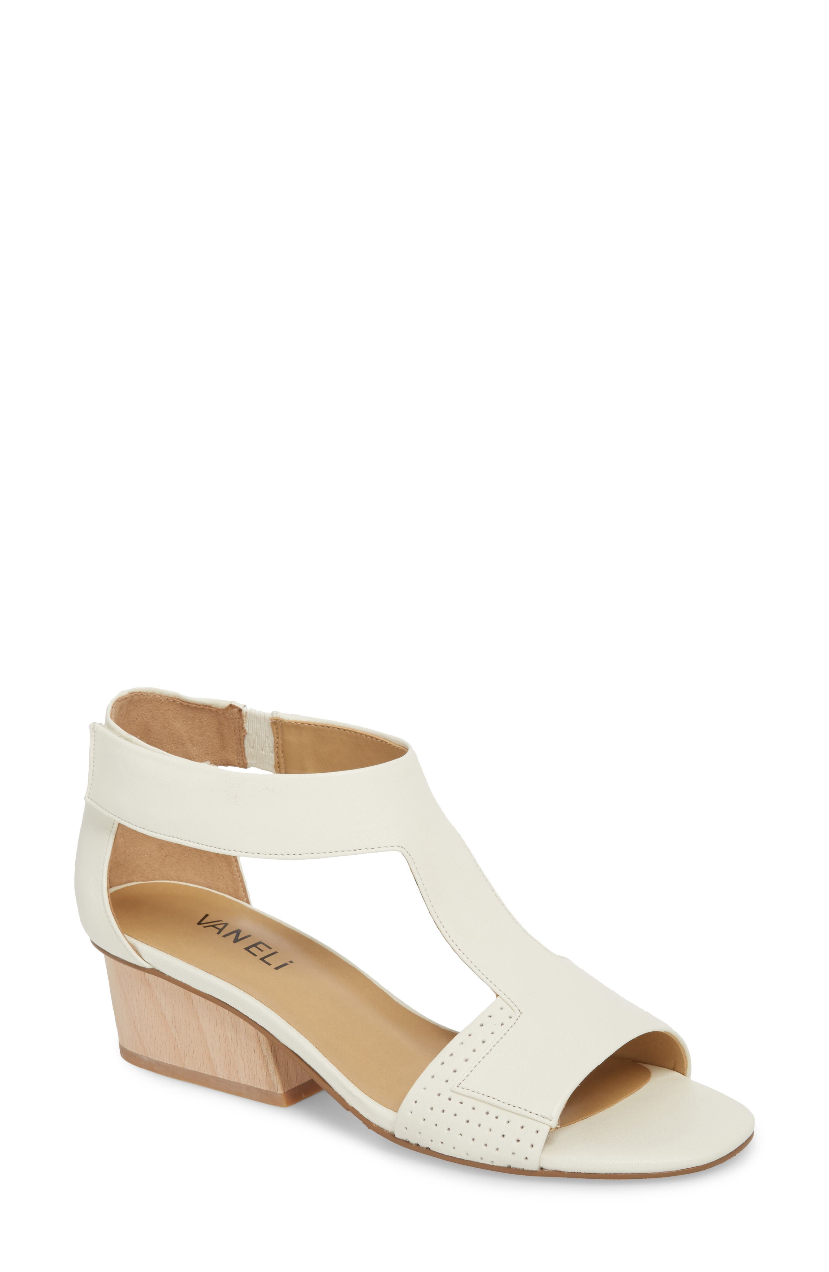 VANELi Calyx Block Heel Sandal (Women)