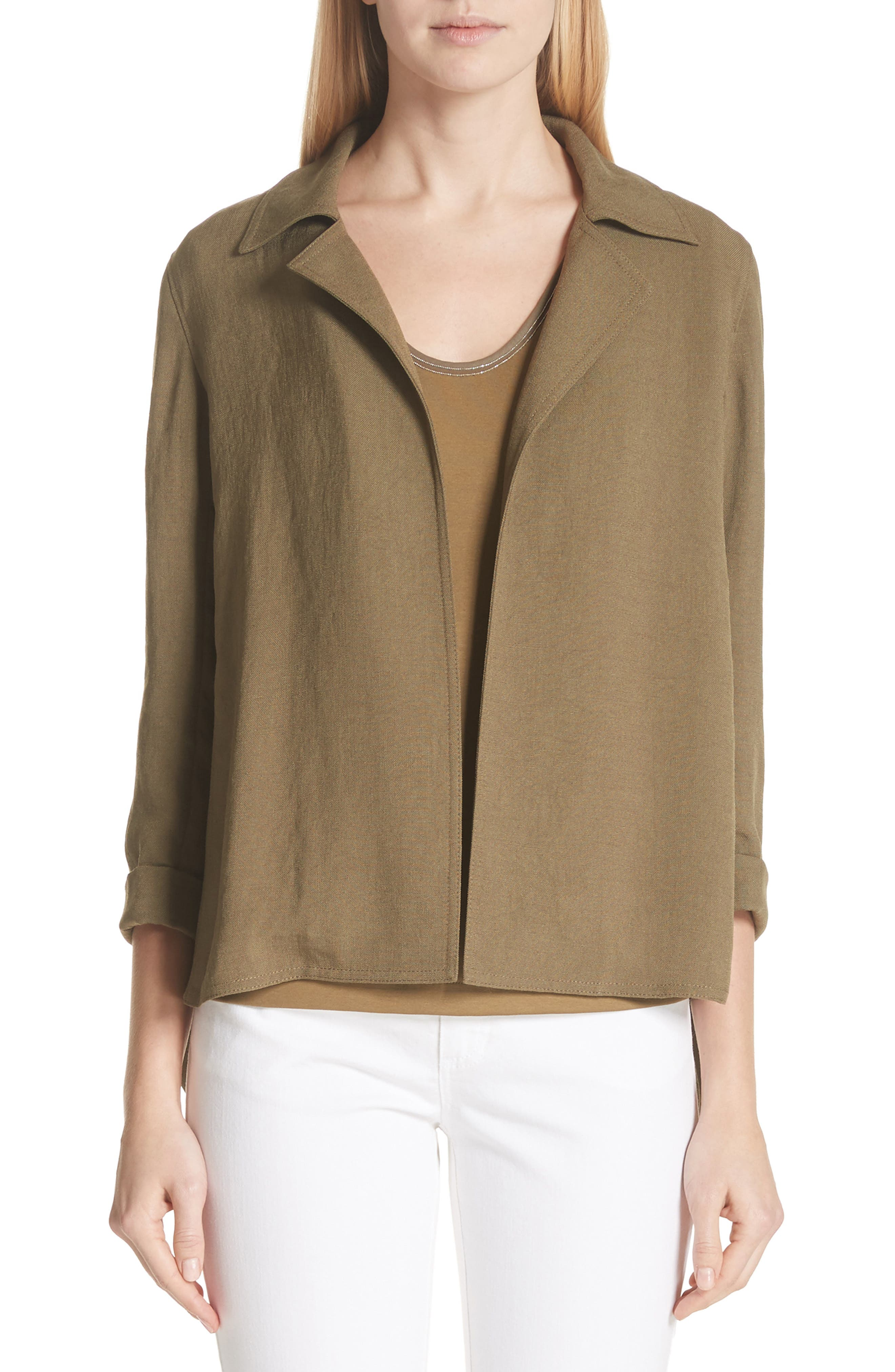 Main Image - Lafayette 148 New York Grant Altruistic Cloth Jacket
