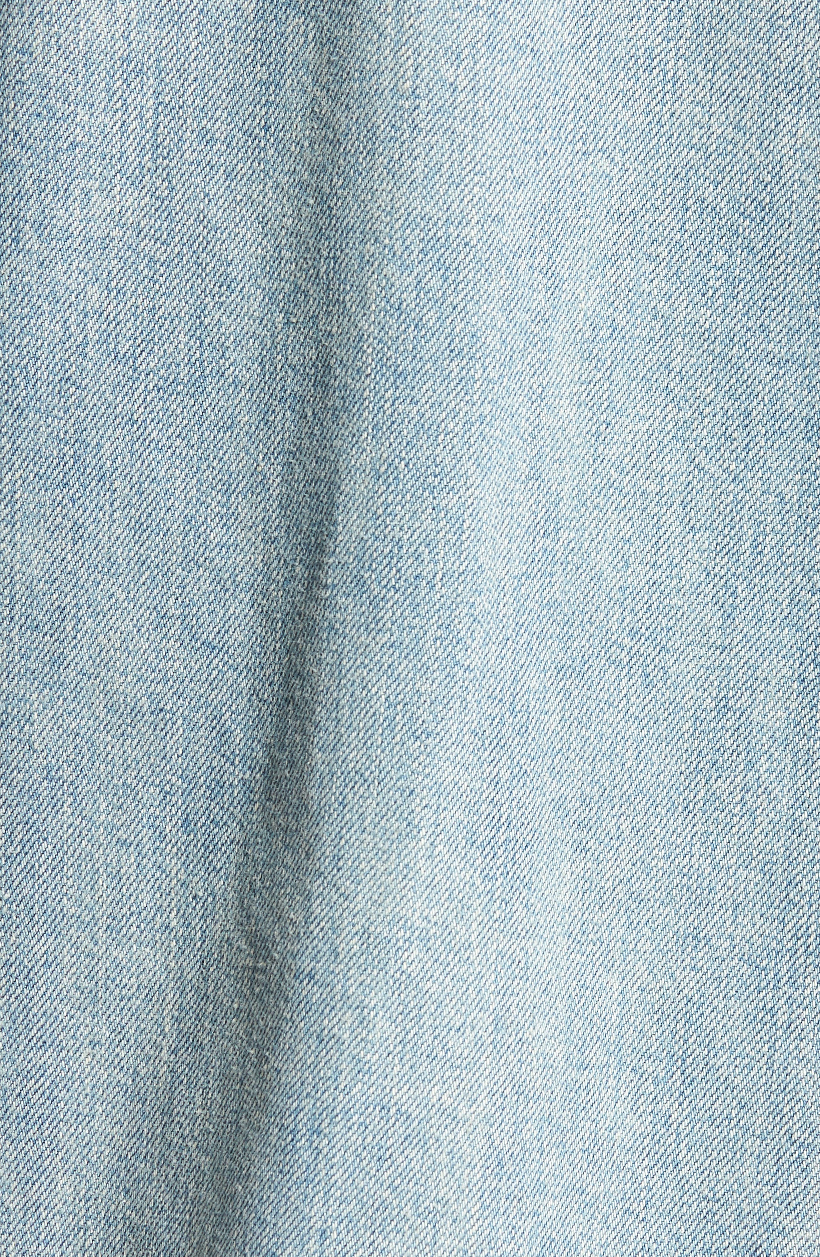 Denim Jacket,                             Alternate thumbnail 5, color,                             Silver City