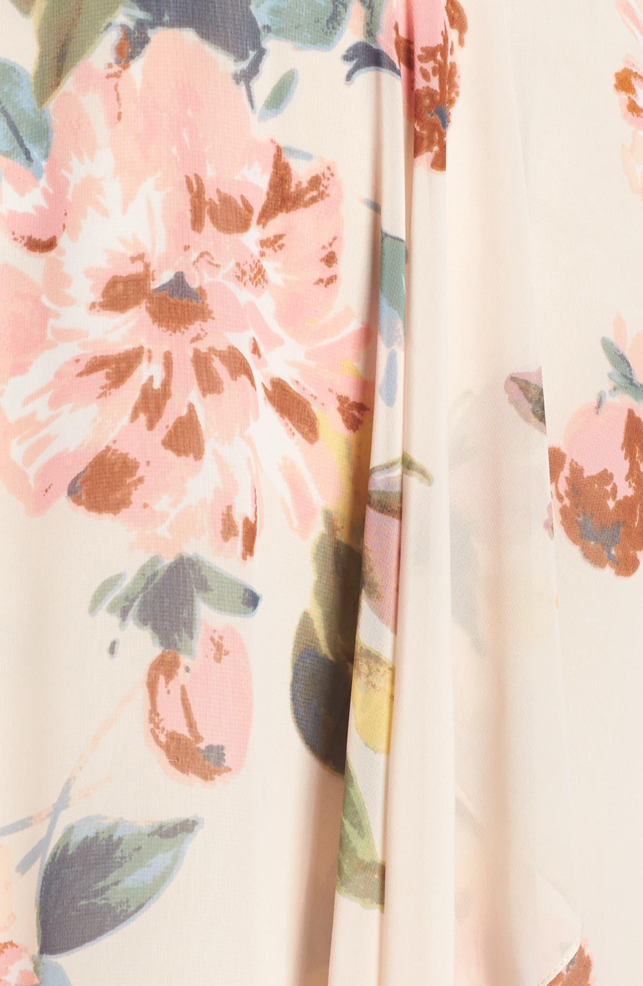 Alternate Image 5  - Jenny Yoo Farrah Halter Gown