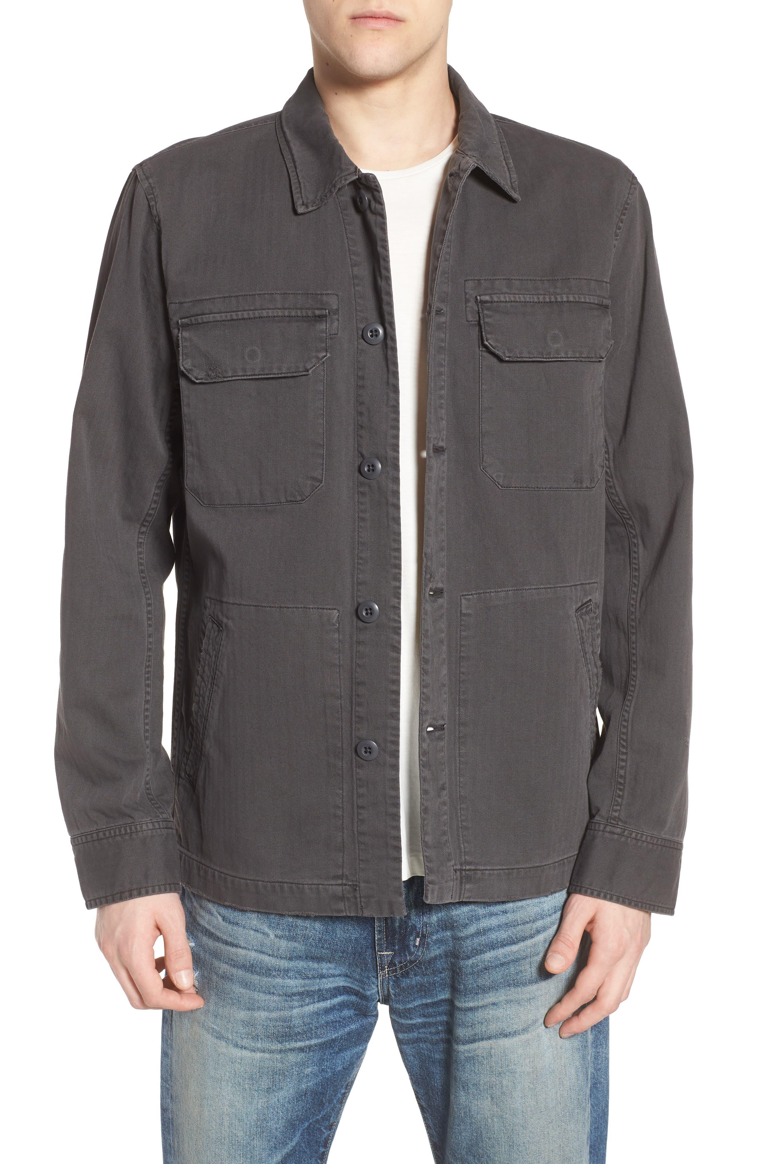 Marx Slim Fit Jacket,                             Main thumbnail 1, color,                             5 Years Pigment Smoke Grey