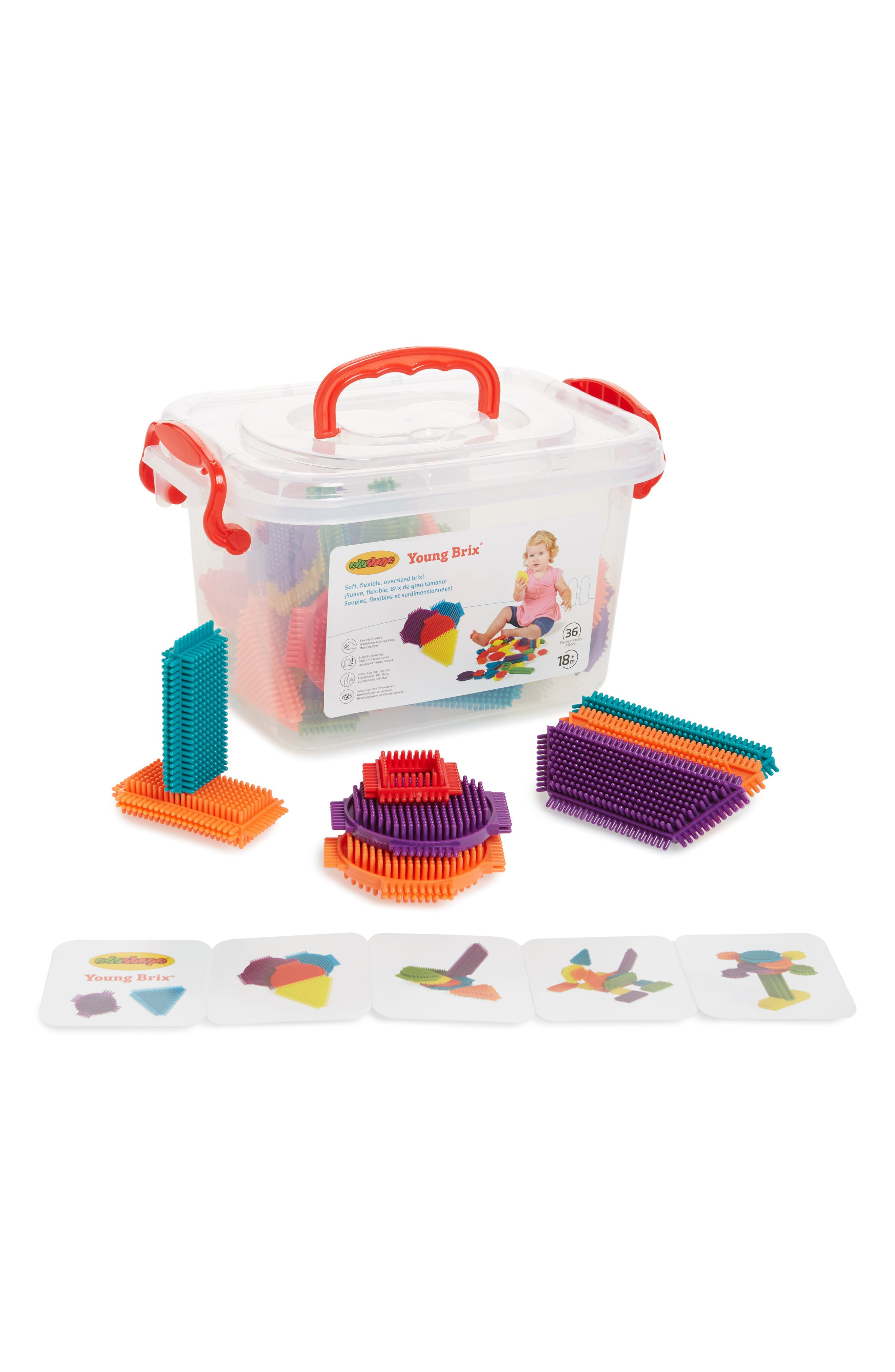 Alternate Image 1 Selected - edushape Young Brix 36-Piece Building Set