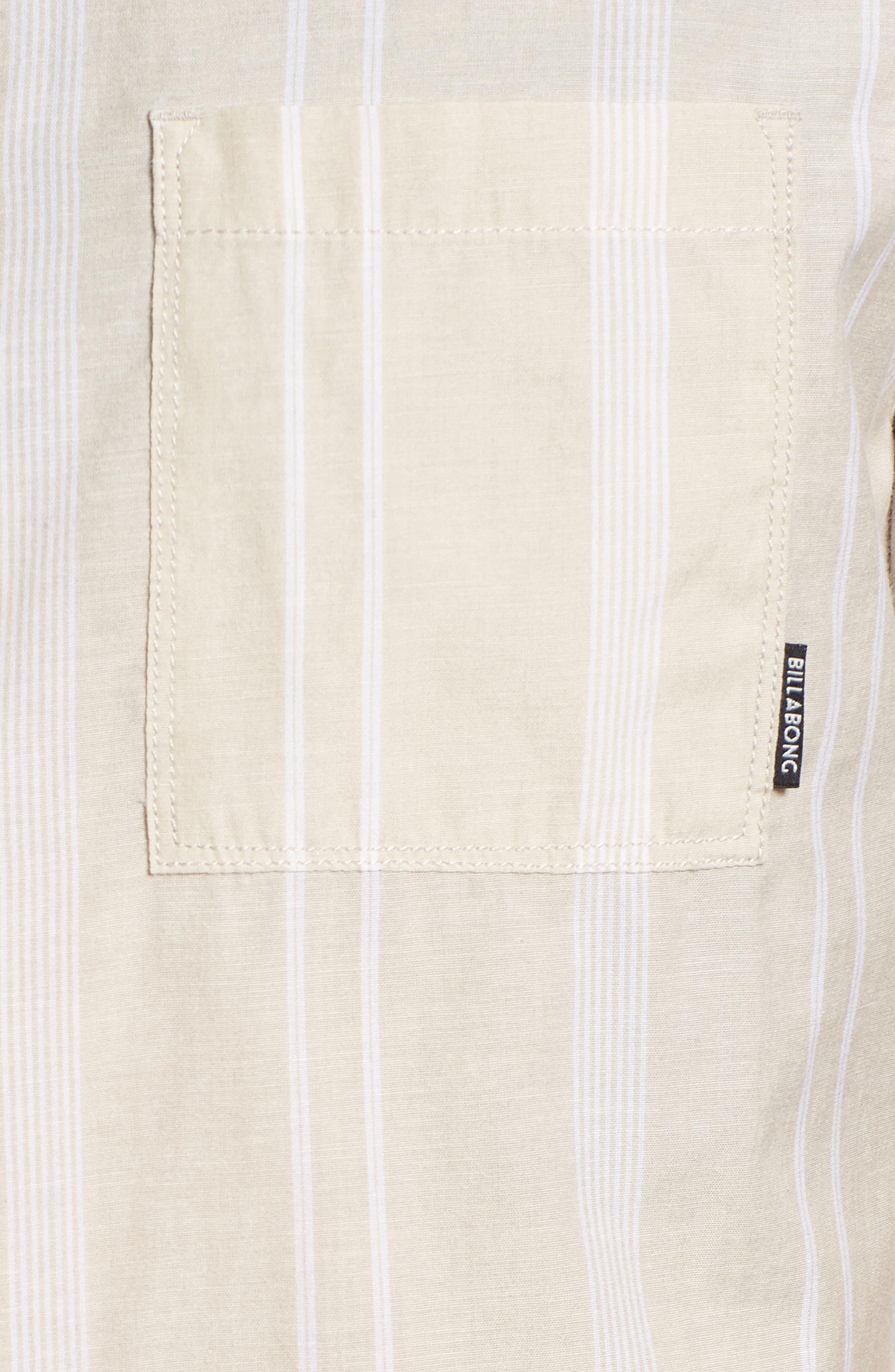 Donny Short Sleeve Shirt,                             Alternate thumbnail 5, color,                             Sand