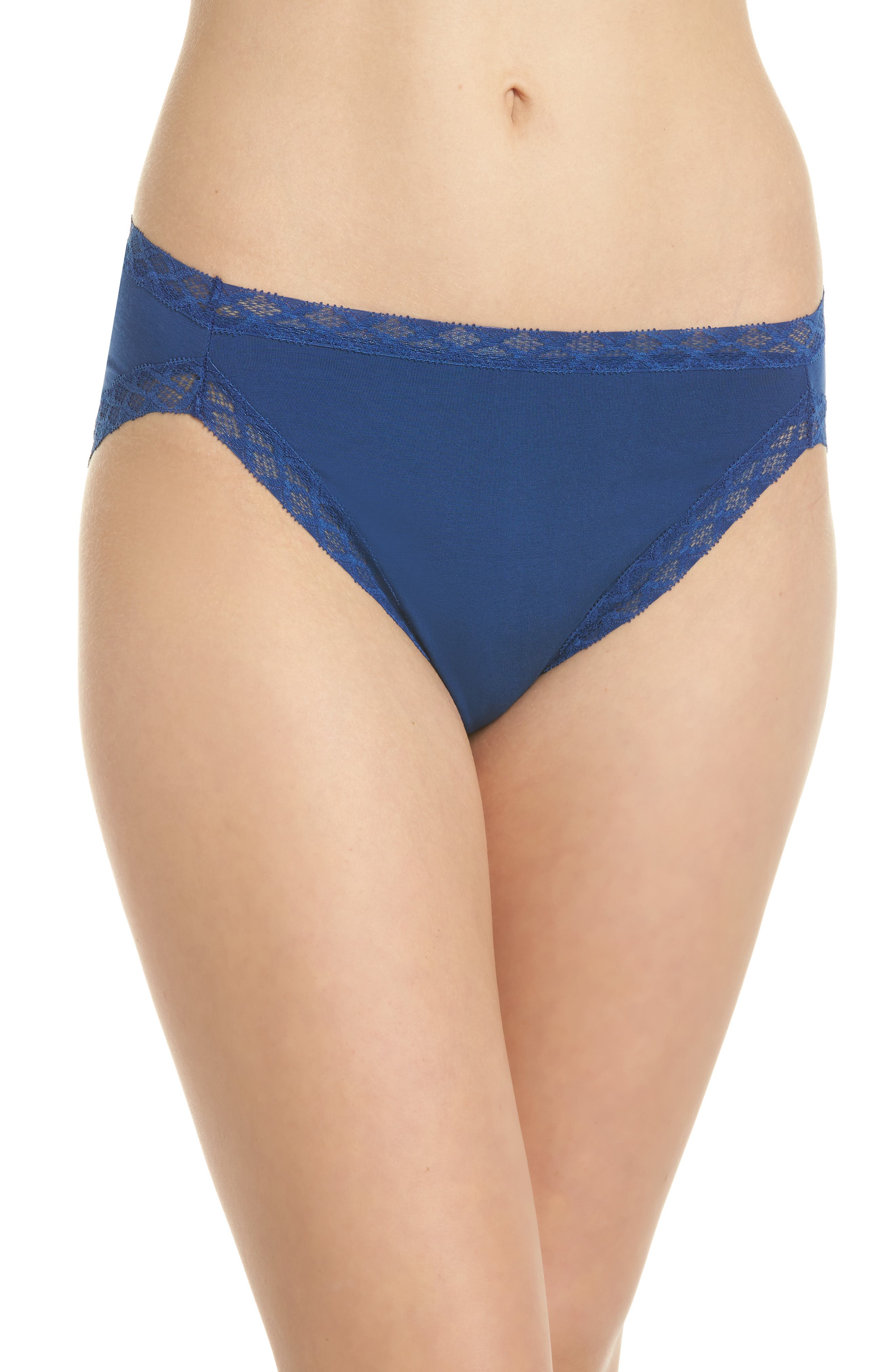 Alternate Image 1 Selected - Natori Bliss French Cut Briefs (3 for $45)