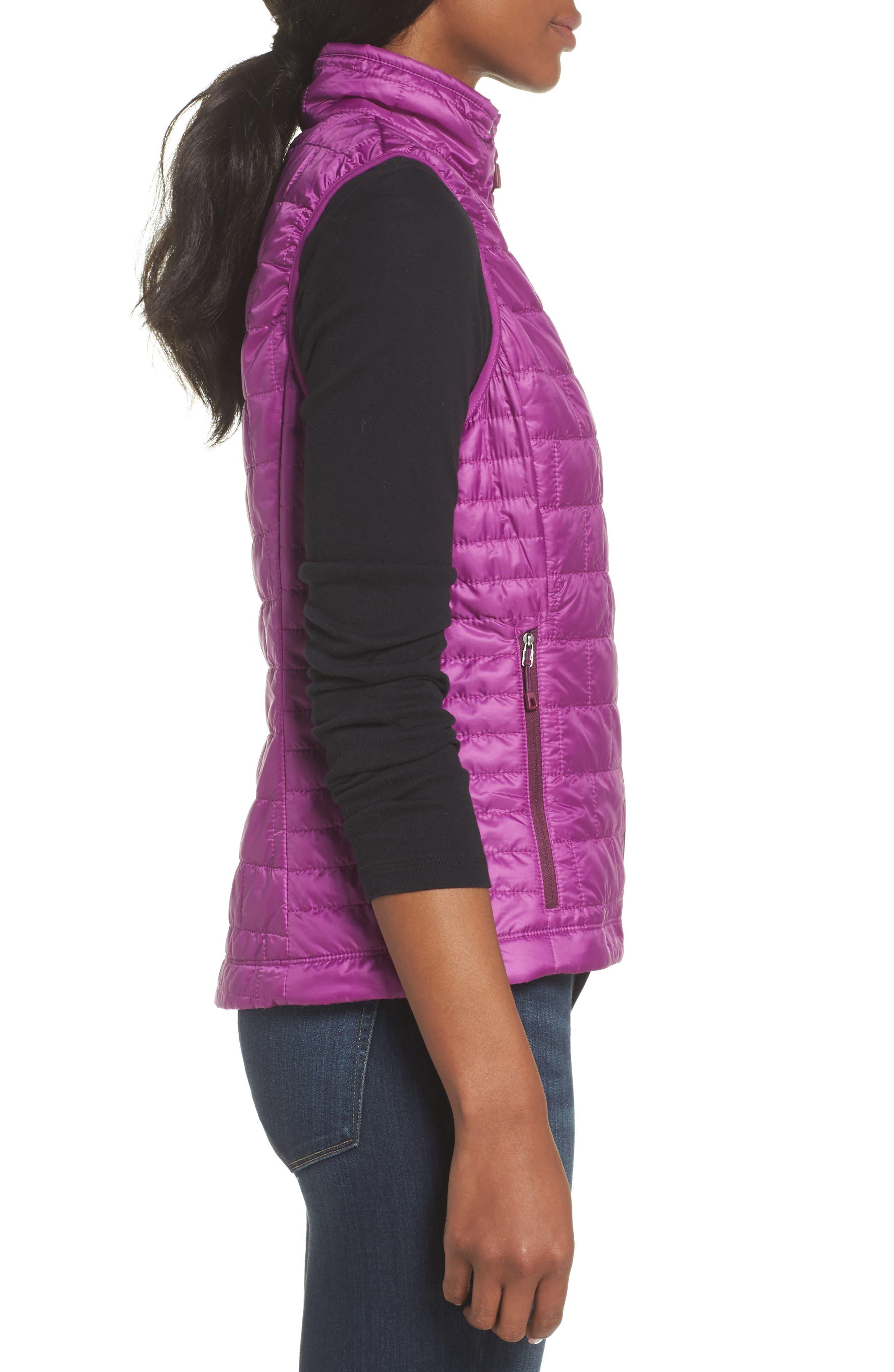'Nano Puff<sup>®</sup>' Insulated Vest,                             Alternate thumbnail 3, color,                             Ikat Purple