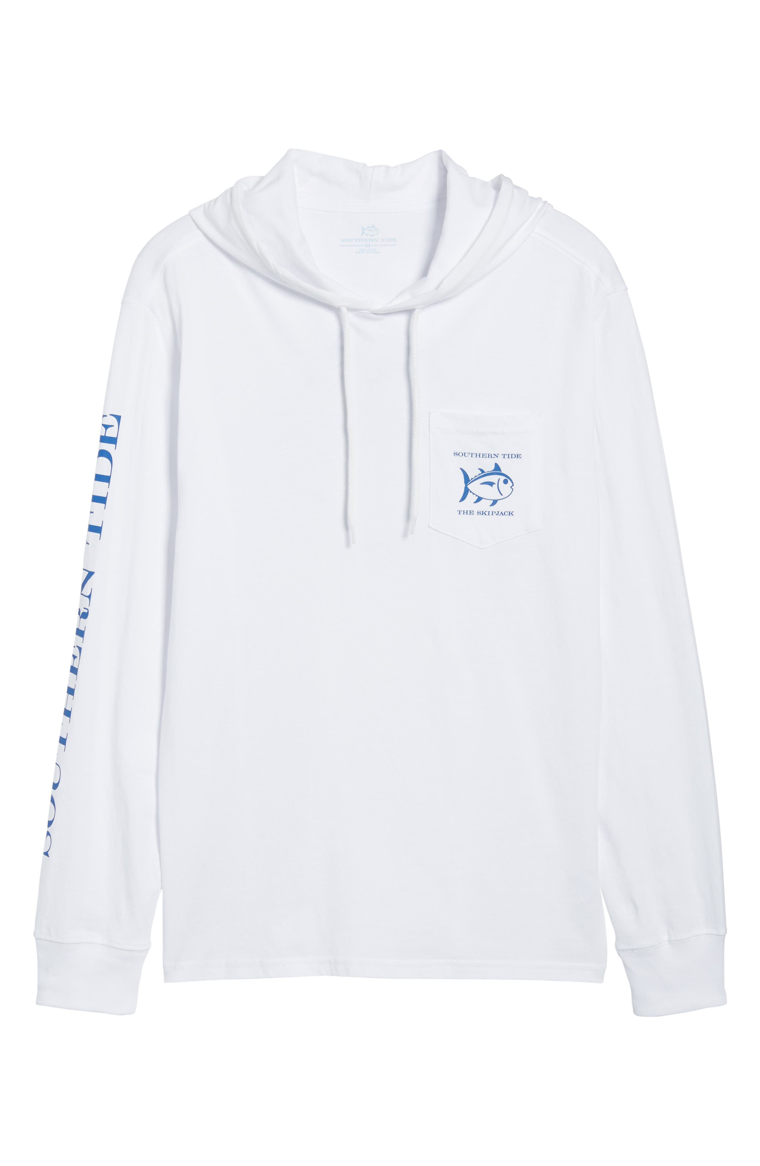 Diamond Logo Hoodie,                             Alternate thumbnail 6, color,                             Classic White