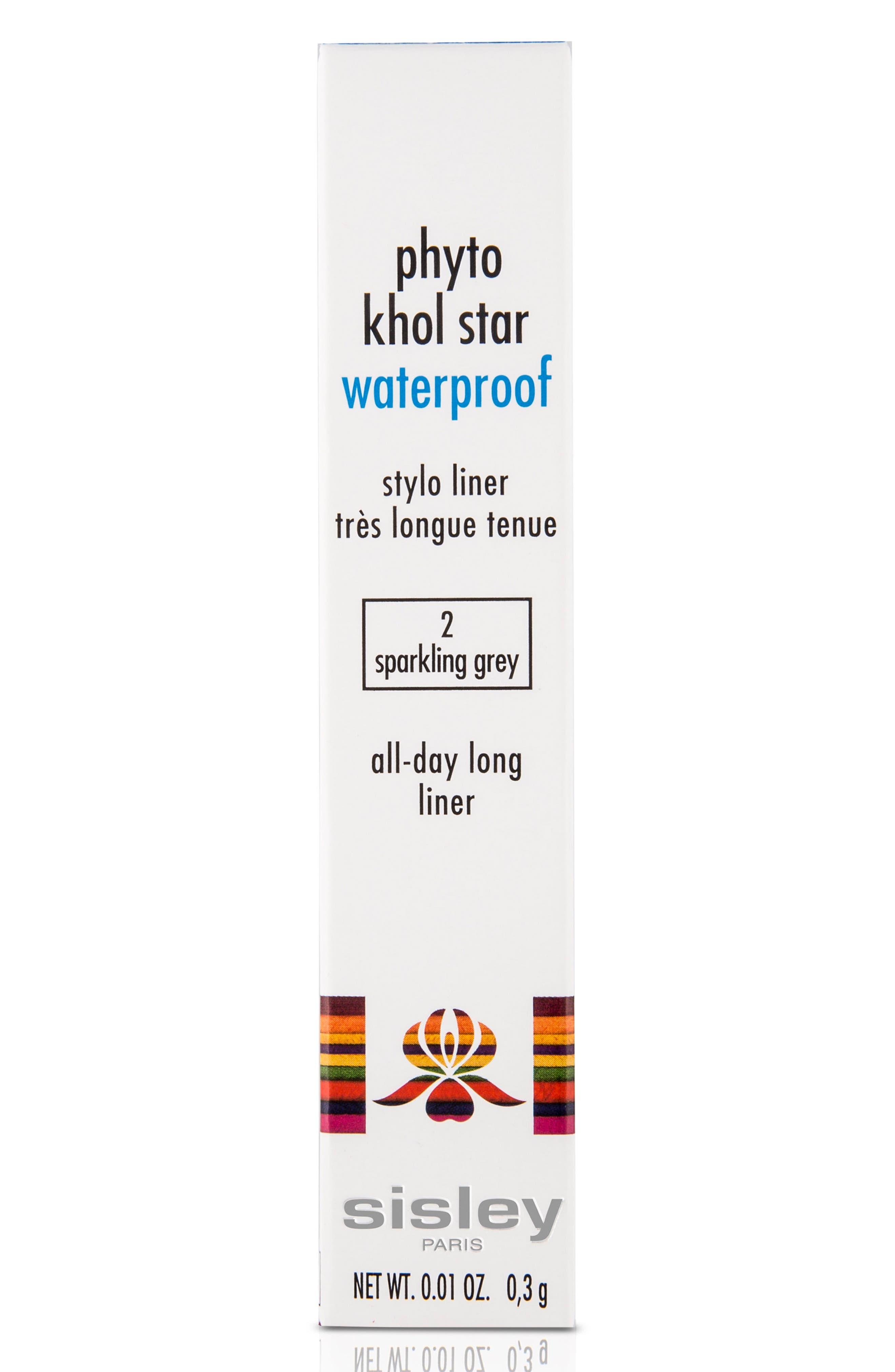 Phyto Kohl Star Sparkling Waterproof Stylo Liner,                             Alternate thumbnail 2, color,                             Sparkling Grey