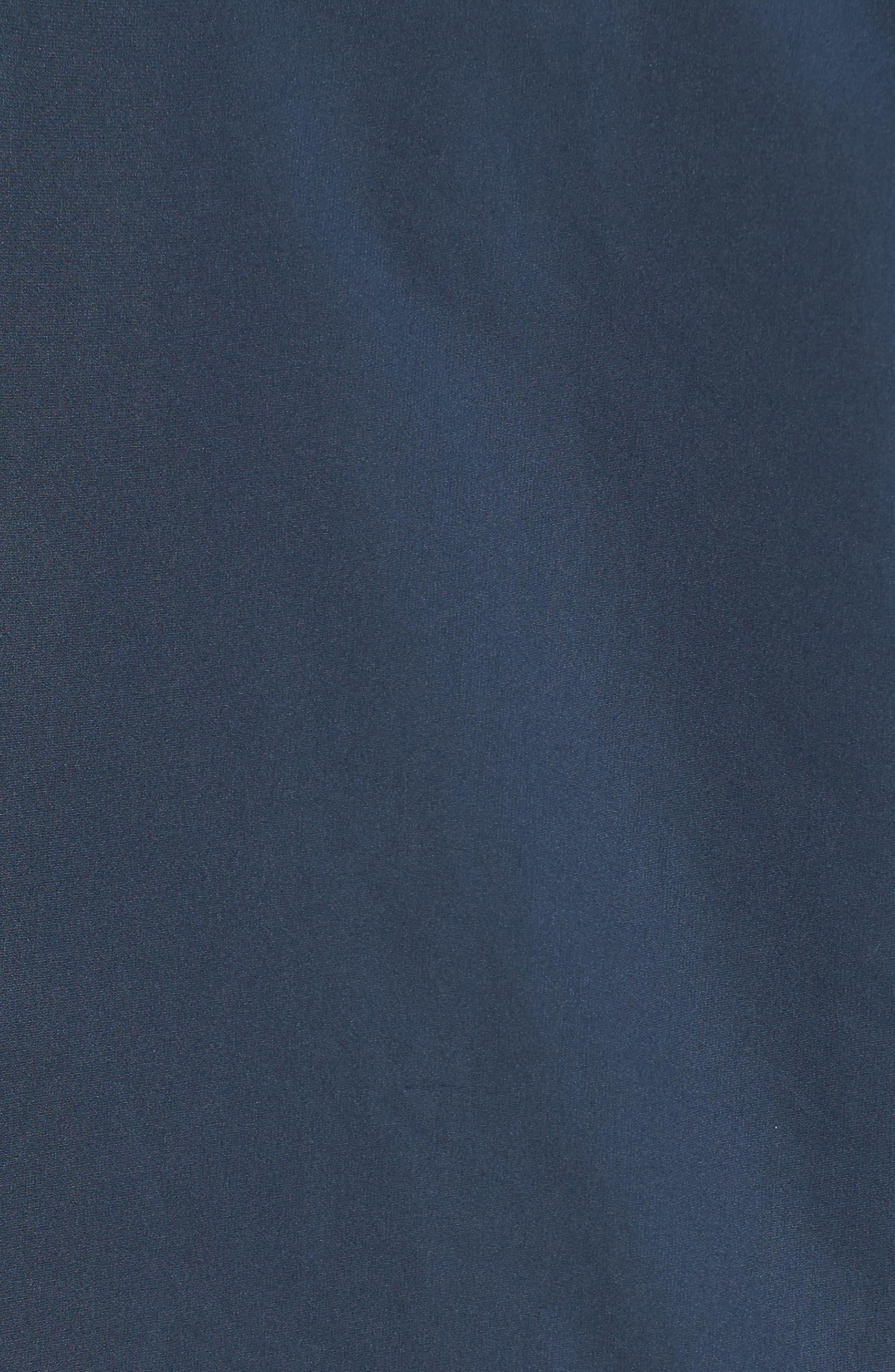 Classic Bomber Jacket,                             Alternate thumbnail 5, color,                             Steel