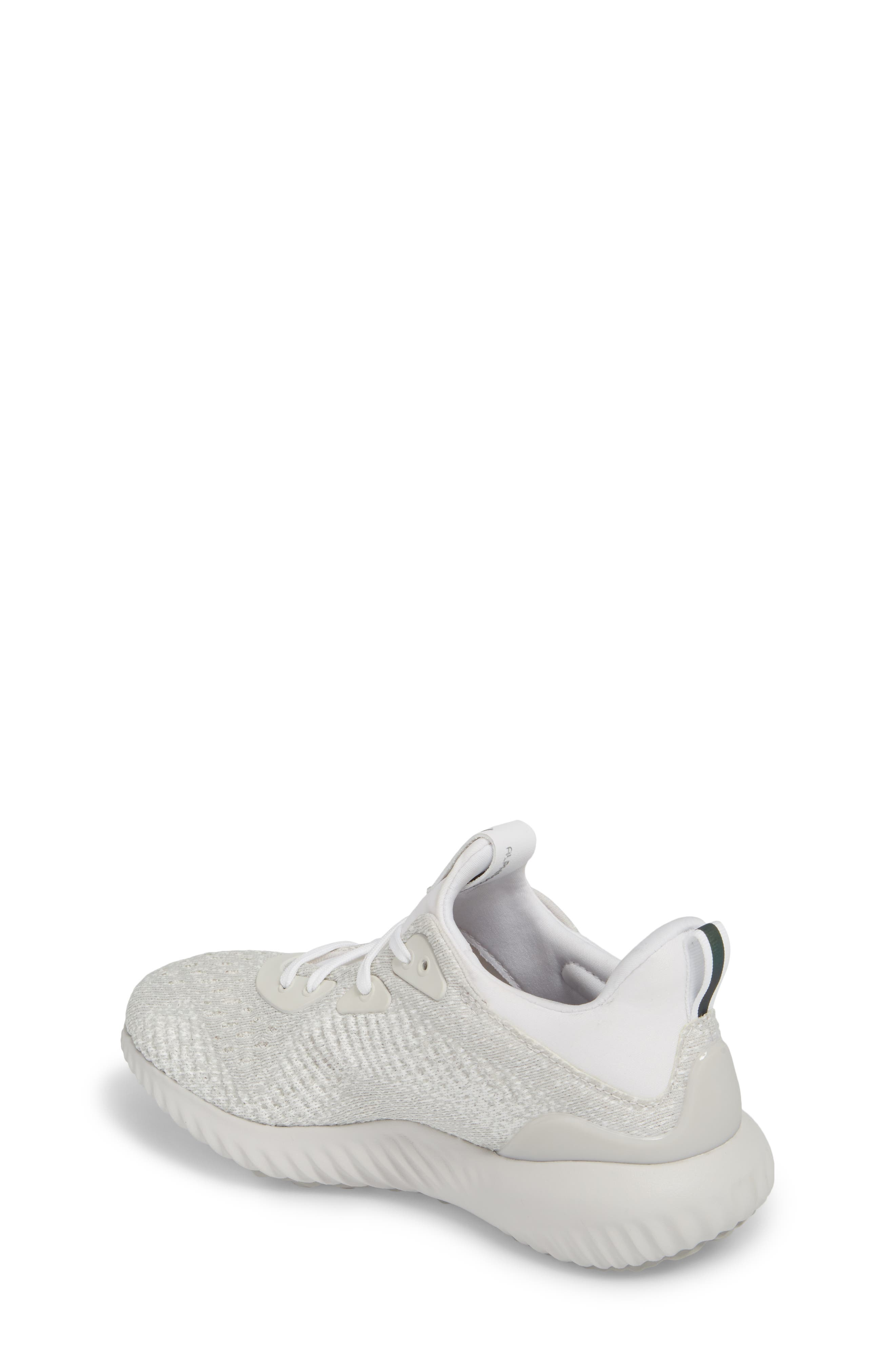 AlphaBounce EM Running Shoe,                             Alternate thumbnail 2, color,                             Grey / Silver Met / Non-Dyed