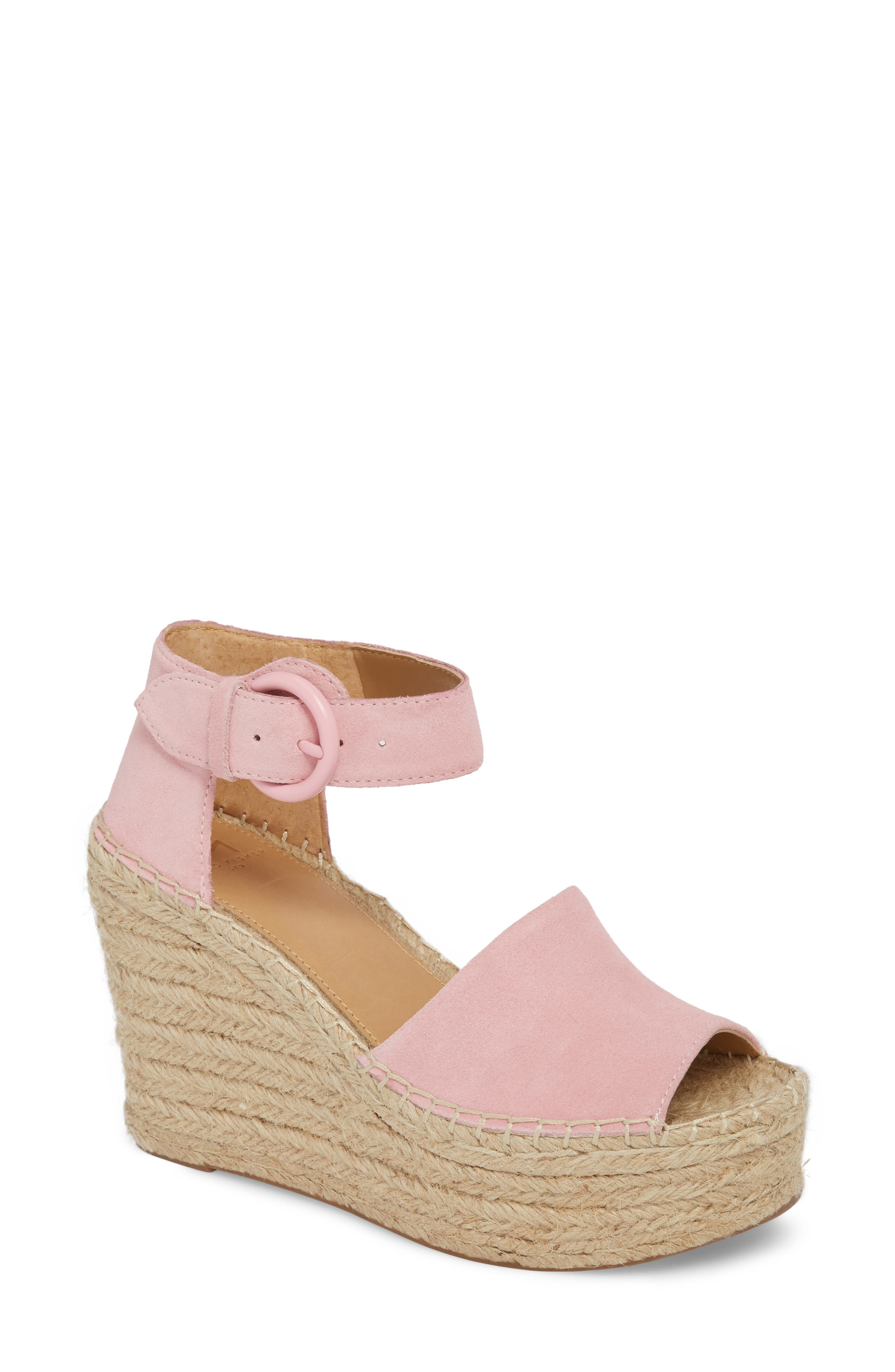 Marc Fisher LTD Alida Espadrille Platform Wedge (Women)