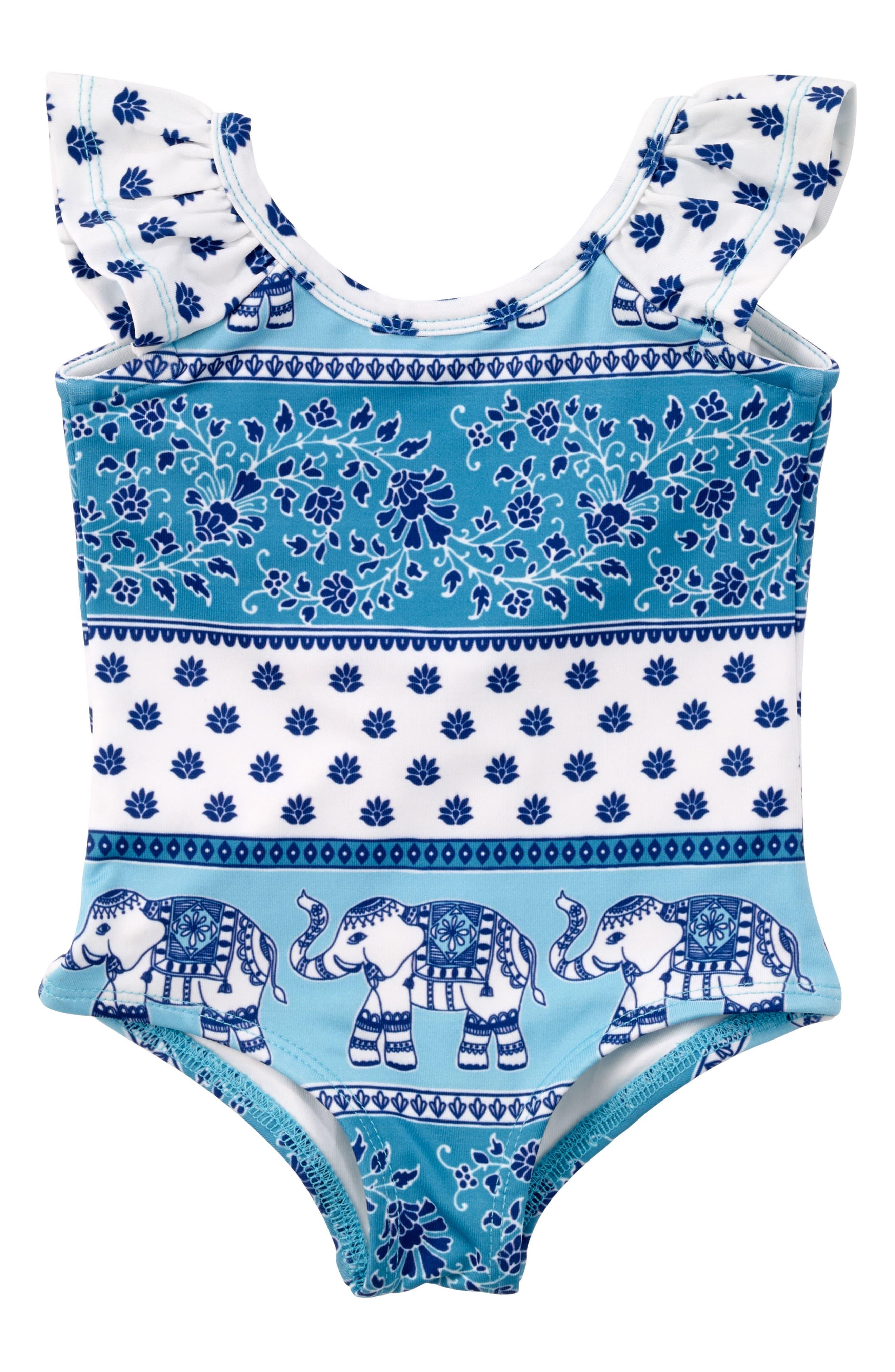 Masalababy Passage One-Piece Swimsuit (Baby Girls)