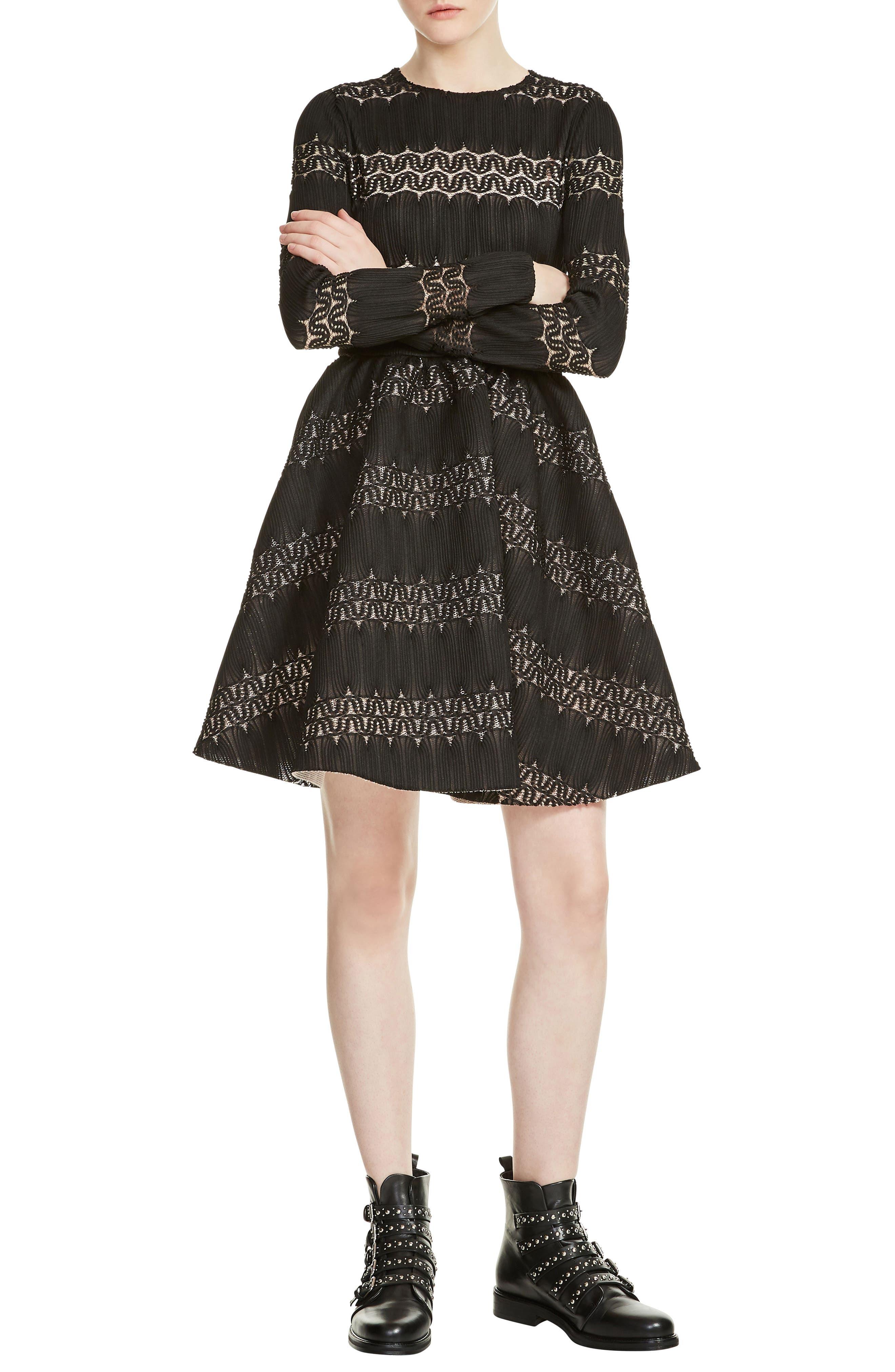 Alternate Image 1 Selected - maje Relane Fit & Flare Dress