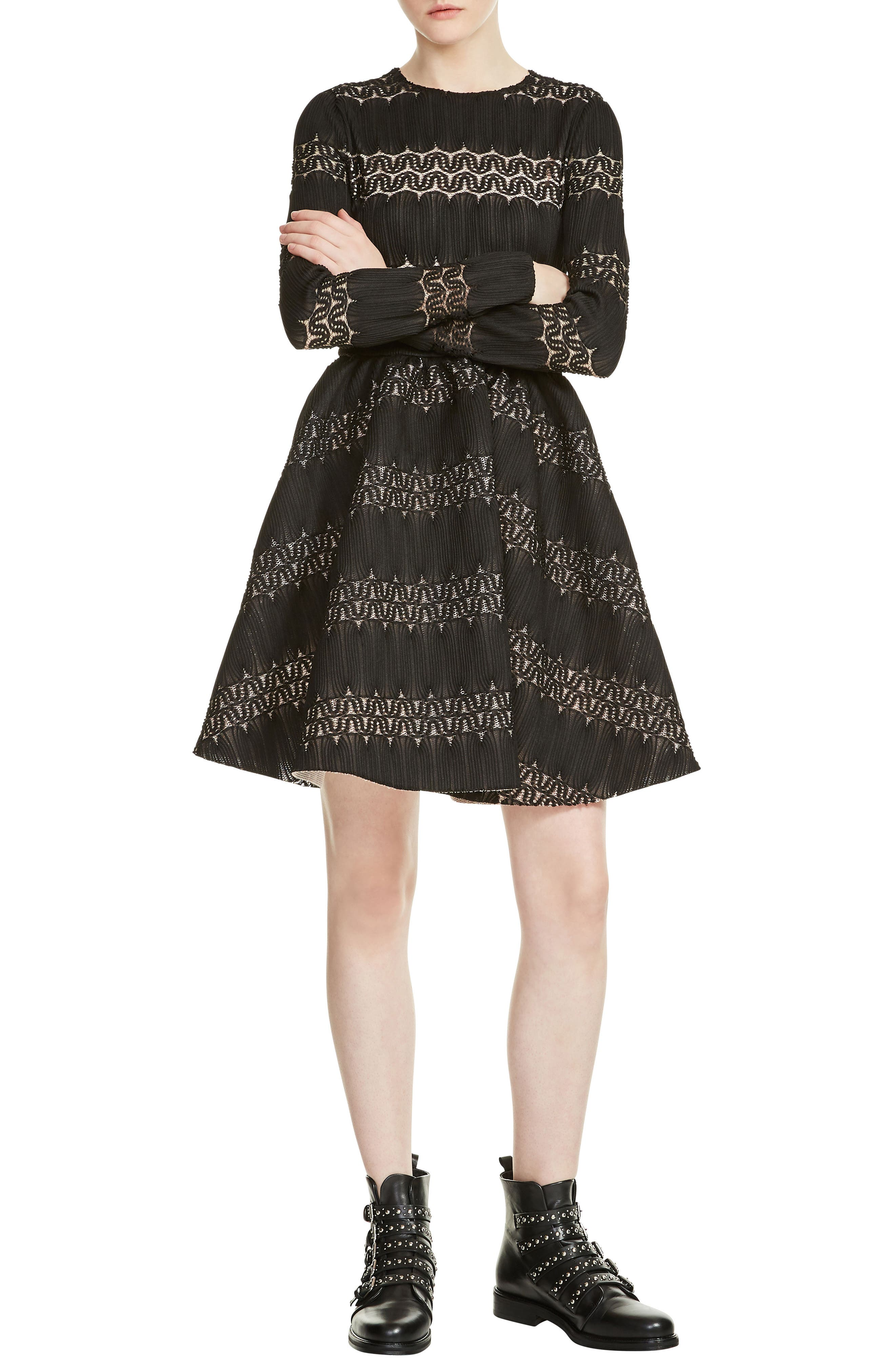 Main Image - maje Relane Fit & Flare Dress